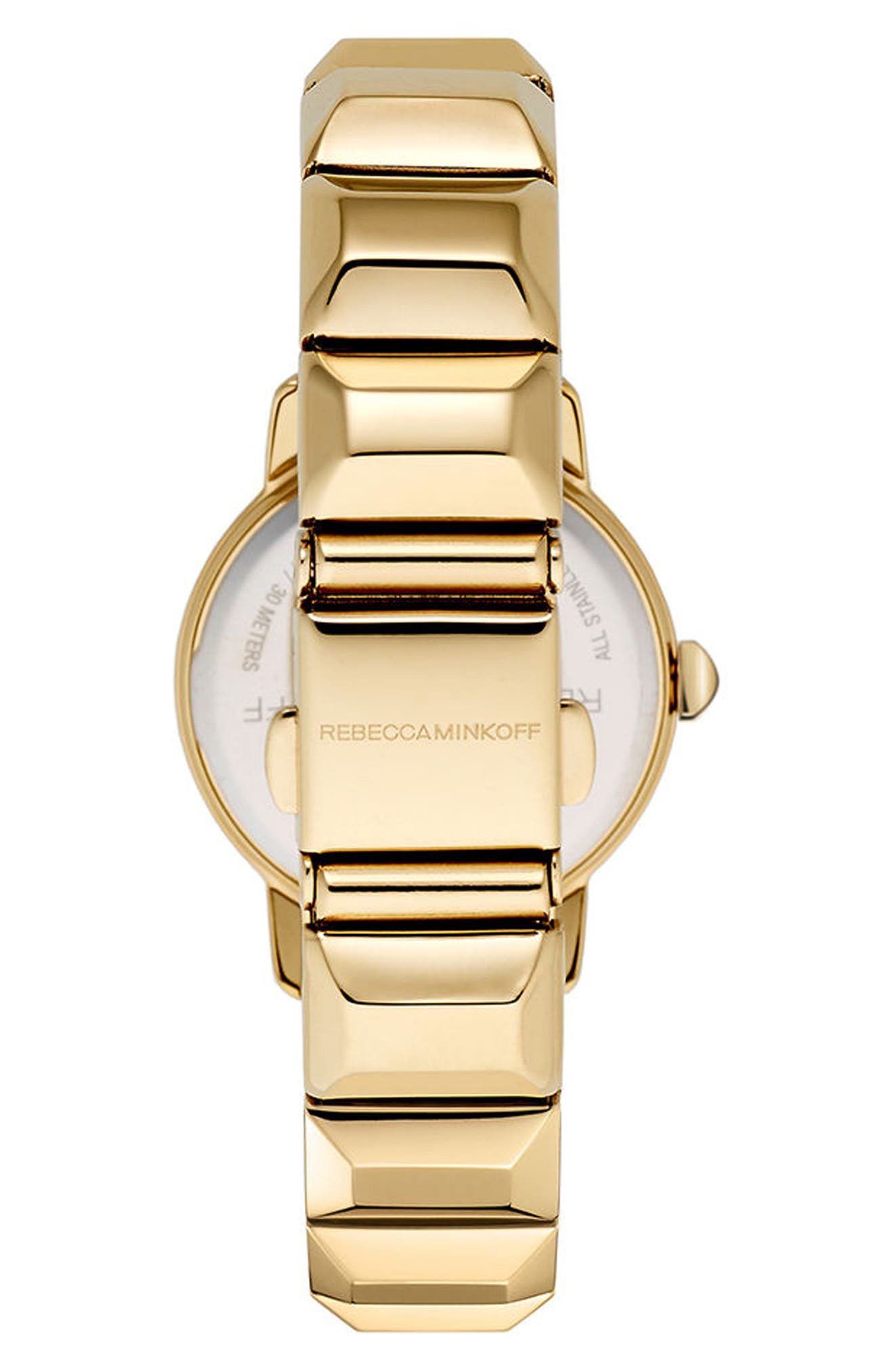 Alternate Image 3  - Rebecca Minkoff BFFL Bracelet Watch, 25mm