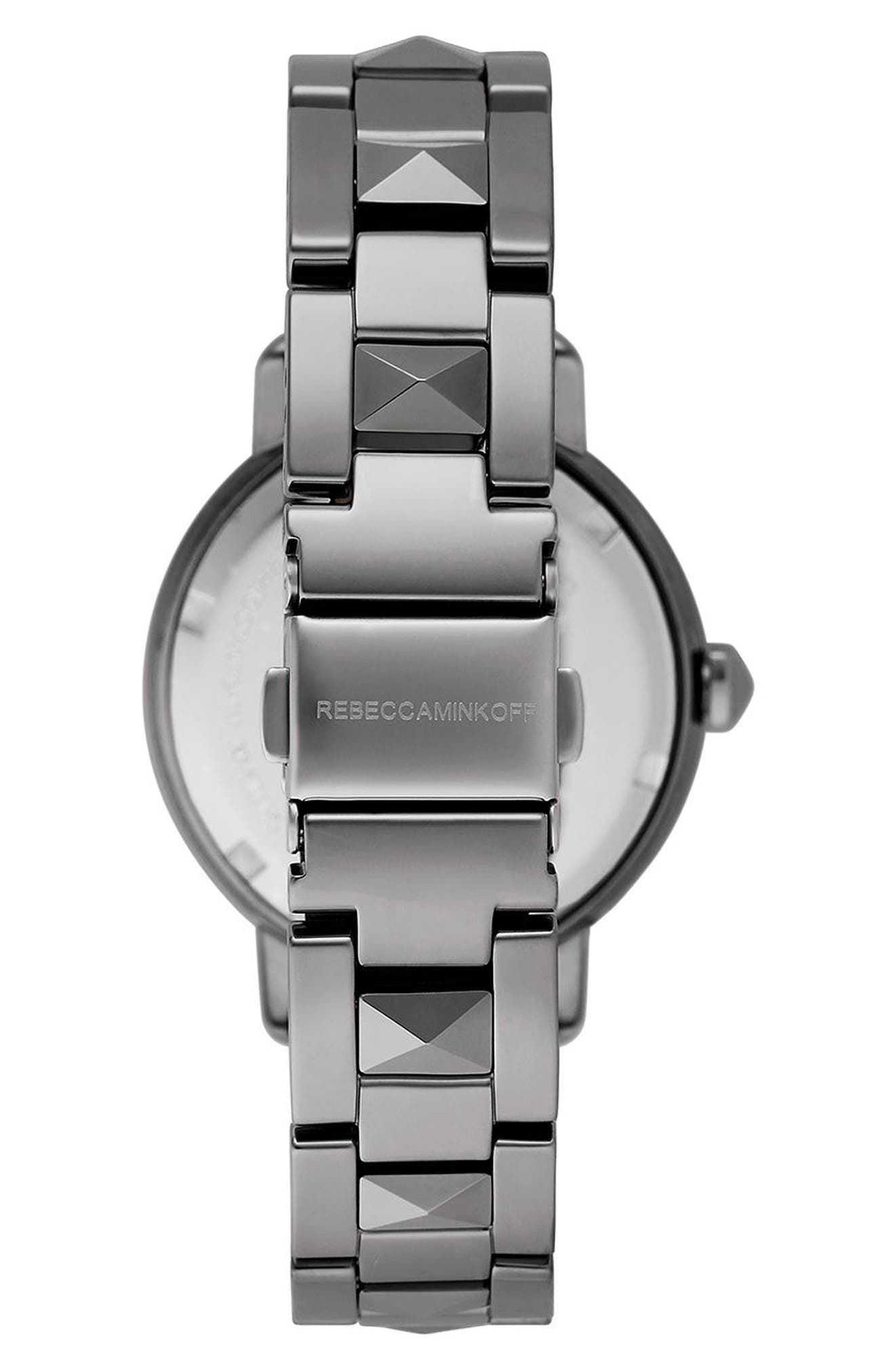 Alternate Image 3  - Rebecca Minkoff BFFL Bracelet Watch, 36mm