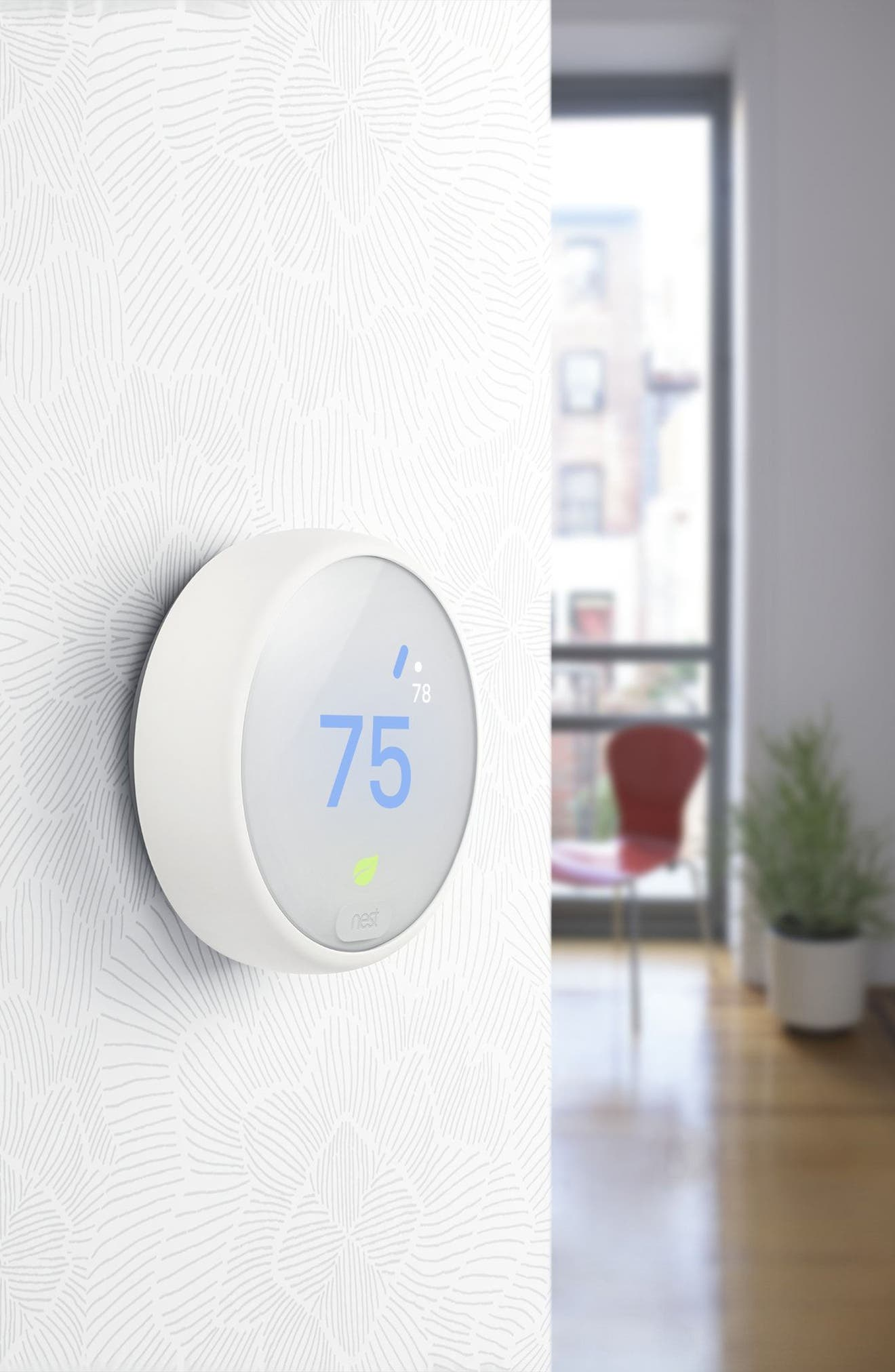 Thermostat E,                             Alternate thumbnail 5, color,                             White