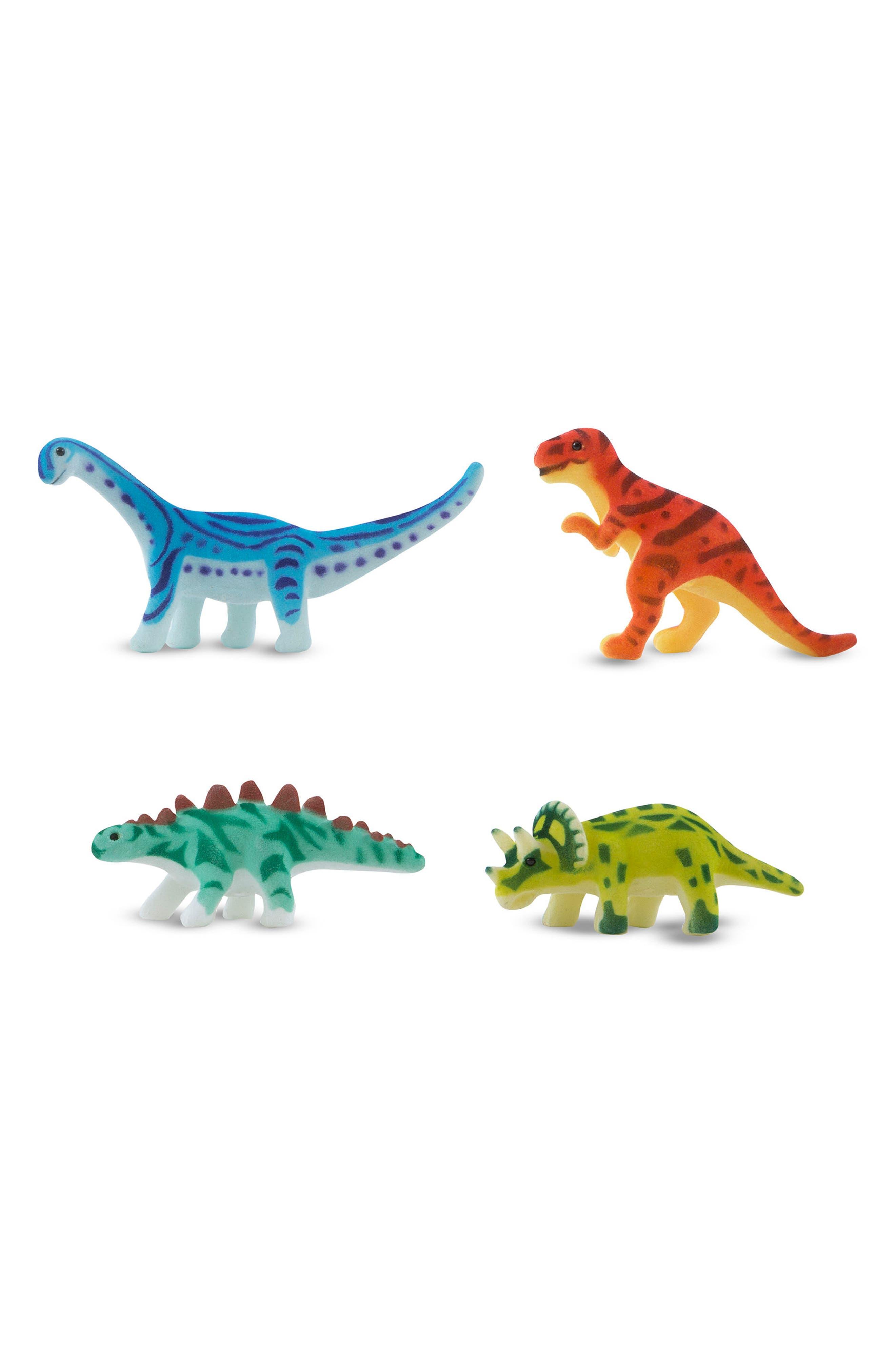 Prehistoric Playground Dinosaur Rug,                             Alternate thumbnail 6, color,                             Green