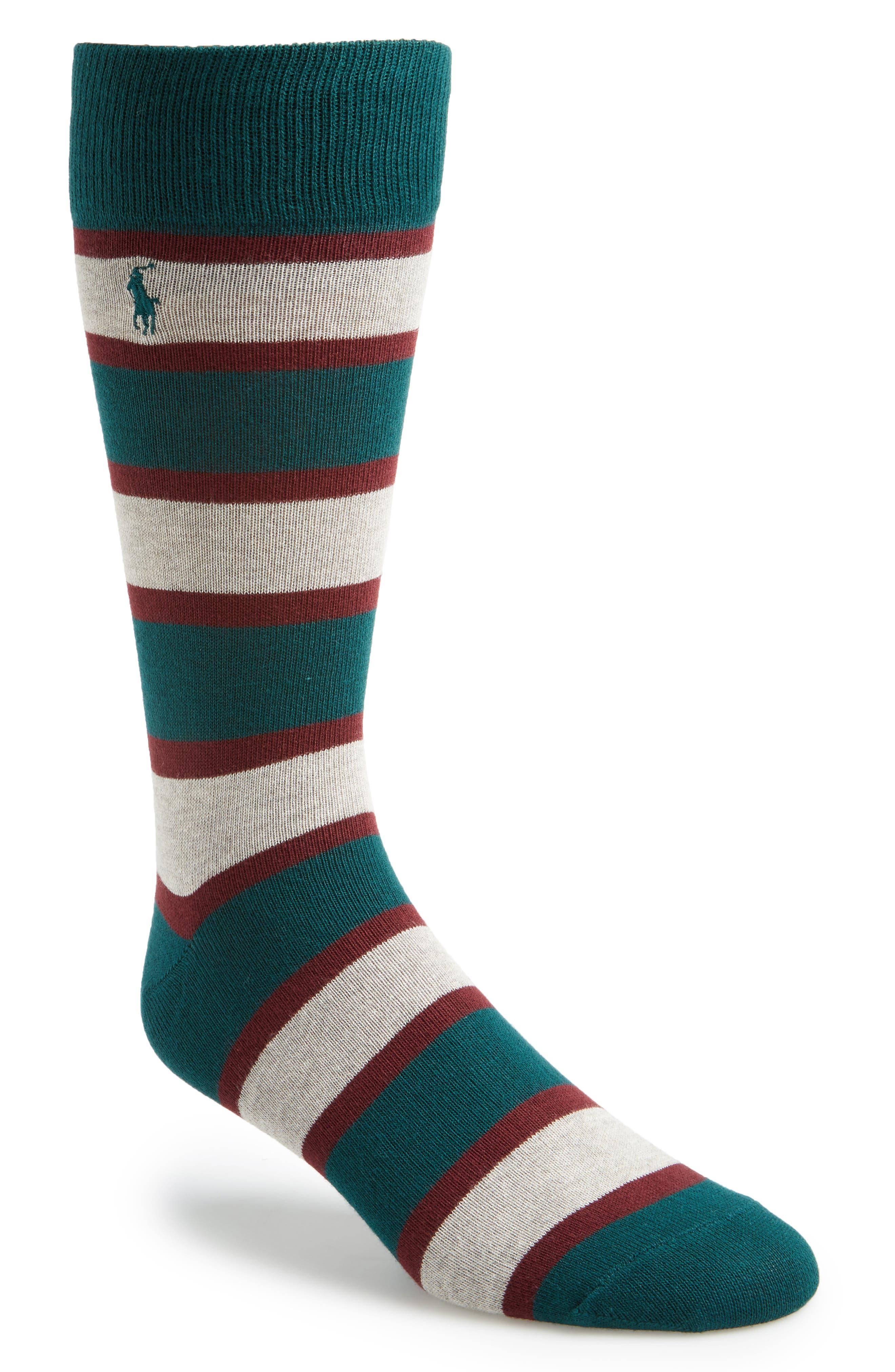 Alternate Image 1 Selected - Polo Ralph Lauren Varsity Stripe