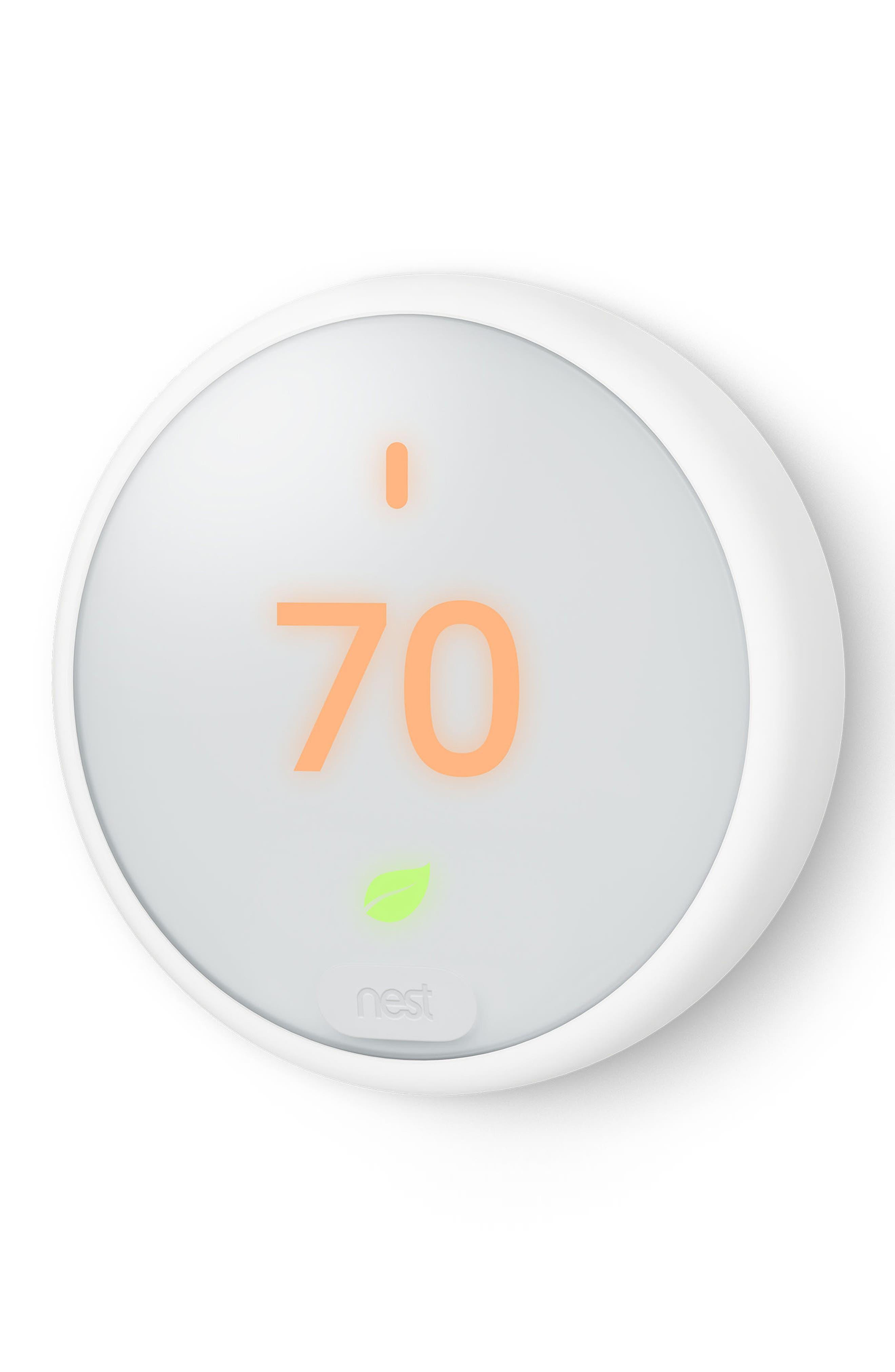 Thermostat E,                             Alternate thumbnail 6, color,                             White