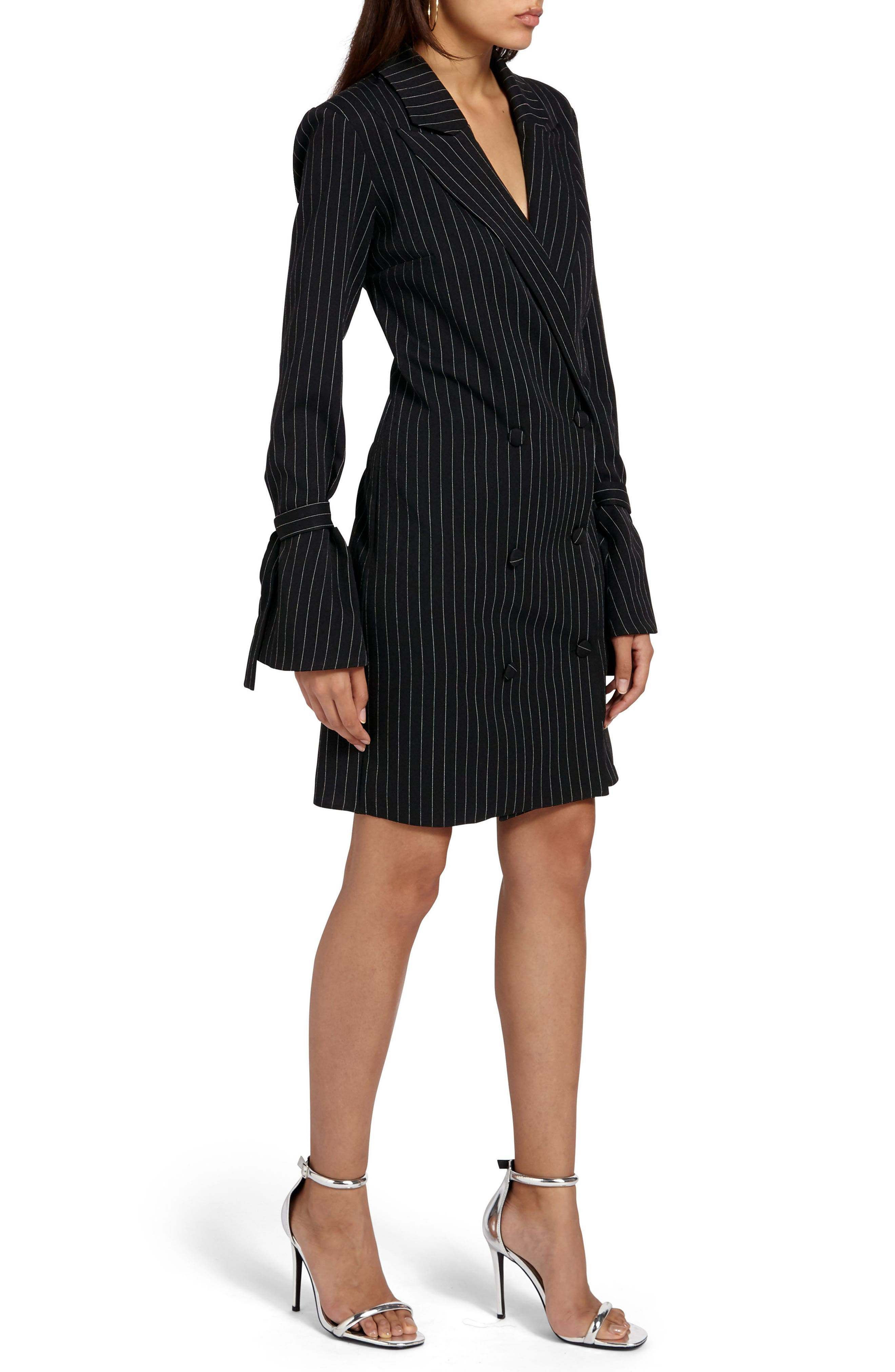 Alternate Image 3  - Missguided Double Breasted Suit Dress