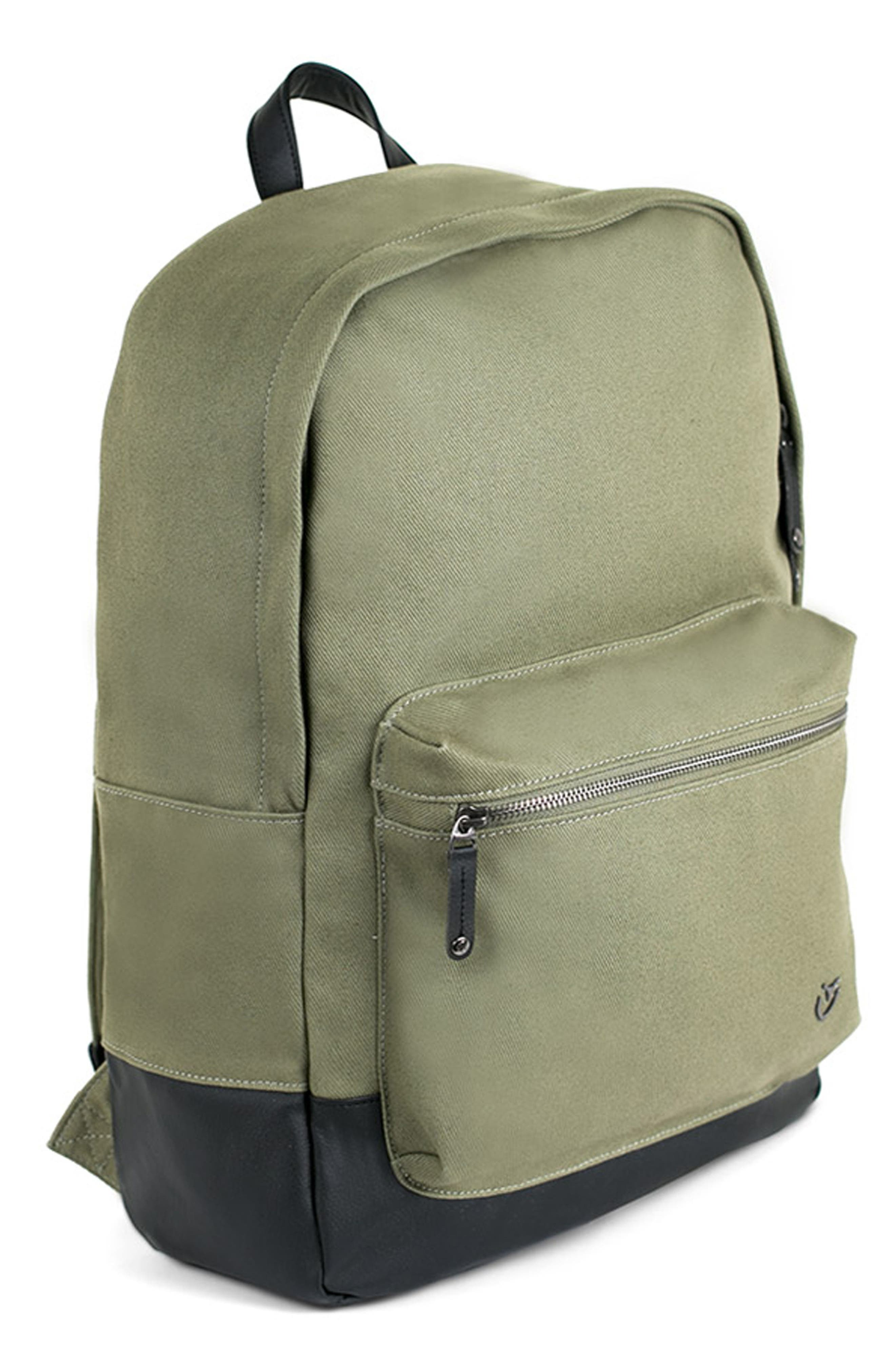 Refined Backpack,                             Alternate thumbnail 4, color,                             Olive