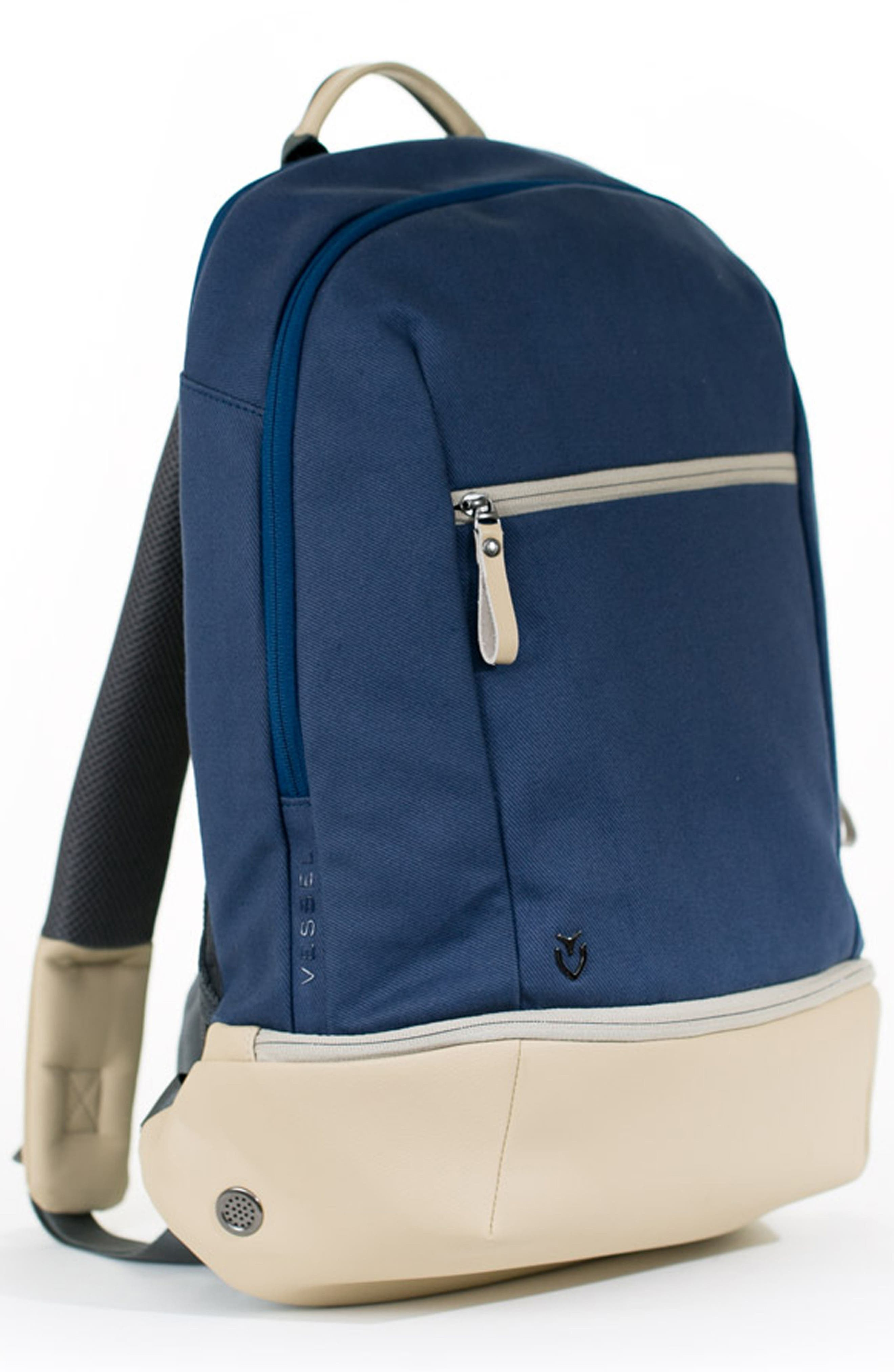 Signature Backpack,                             Alternate thumbnail 4, color,                             Navy
