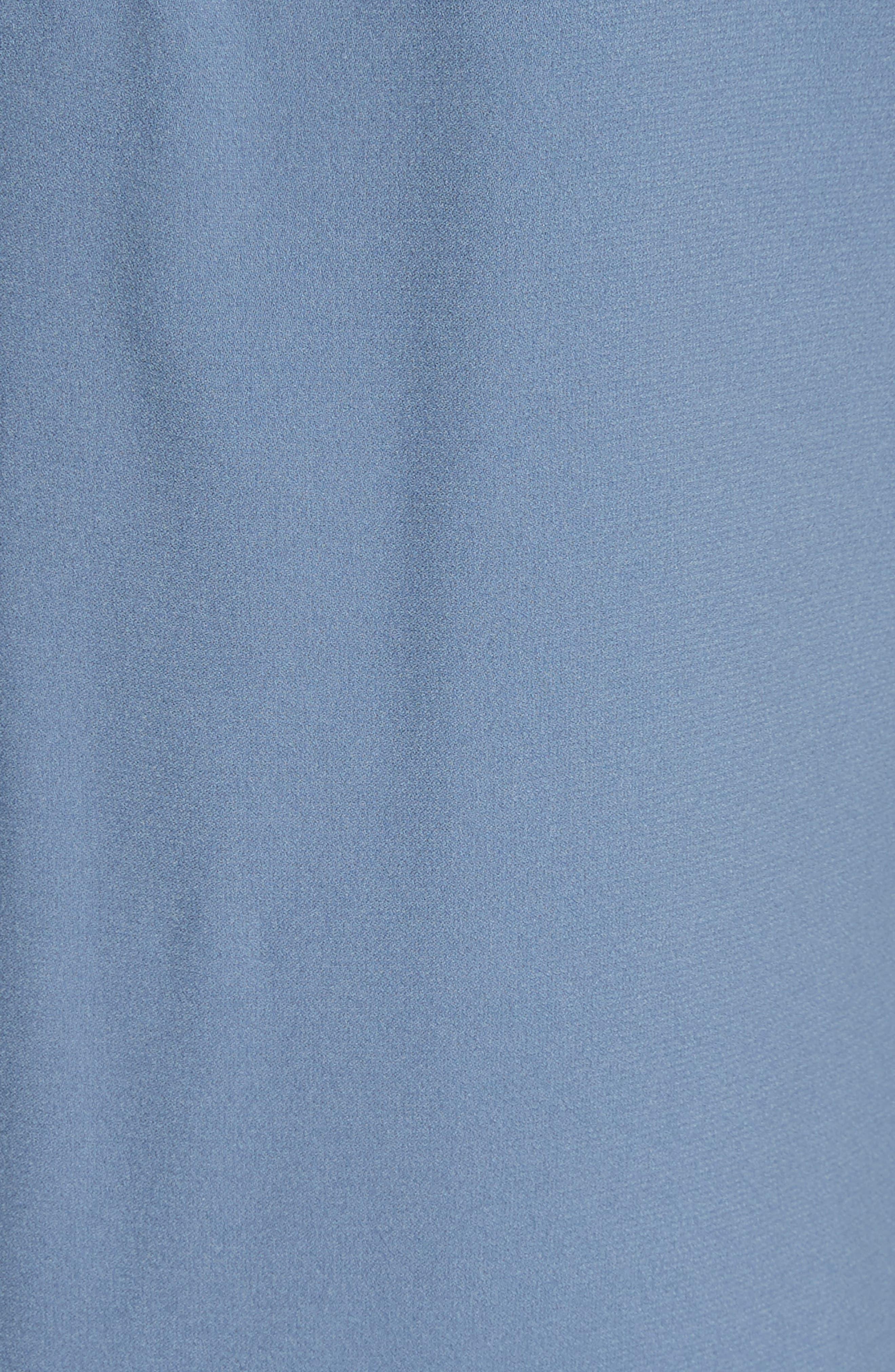 Alternate Image 5  - Fabiana Filippi Satin Trim Crepe Dress