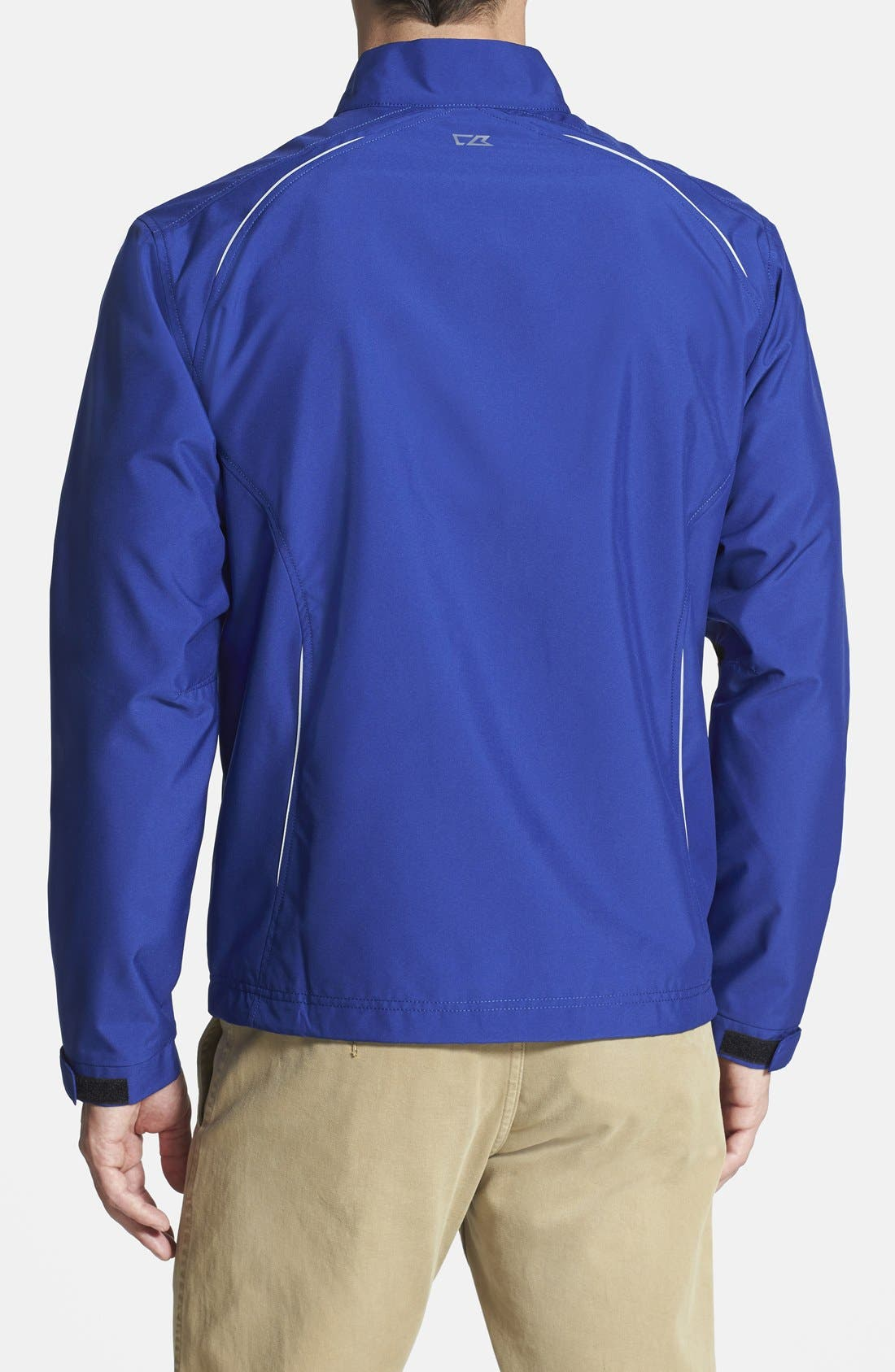 New York Giants - Beacon WeatherTec Wind & Water Resistant Jacket,                             Alternate thumbnail 2, color,                             Tour Blue