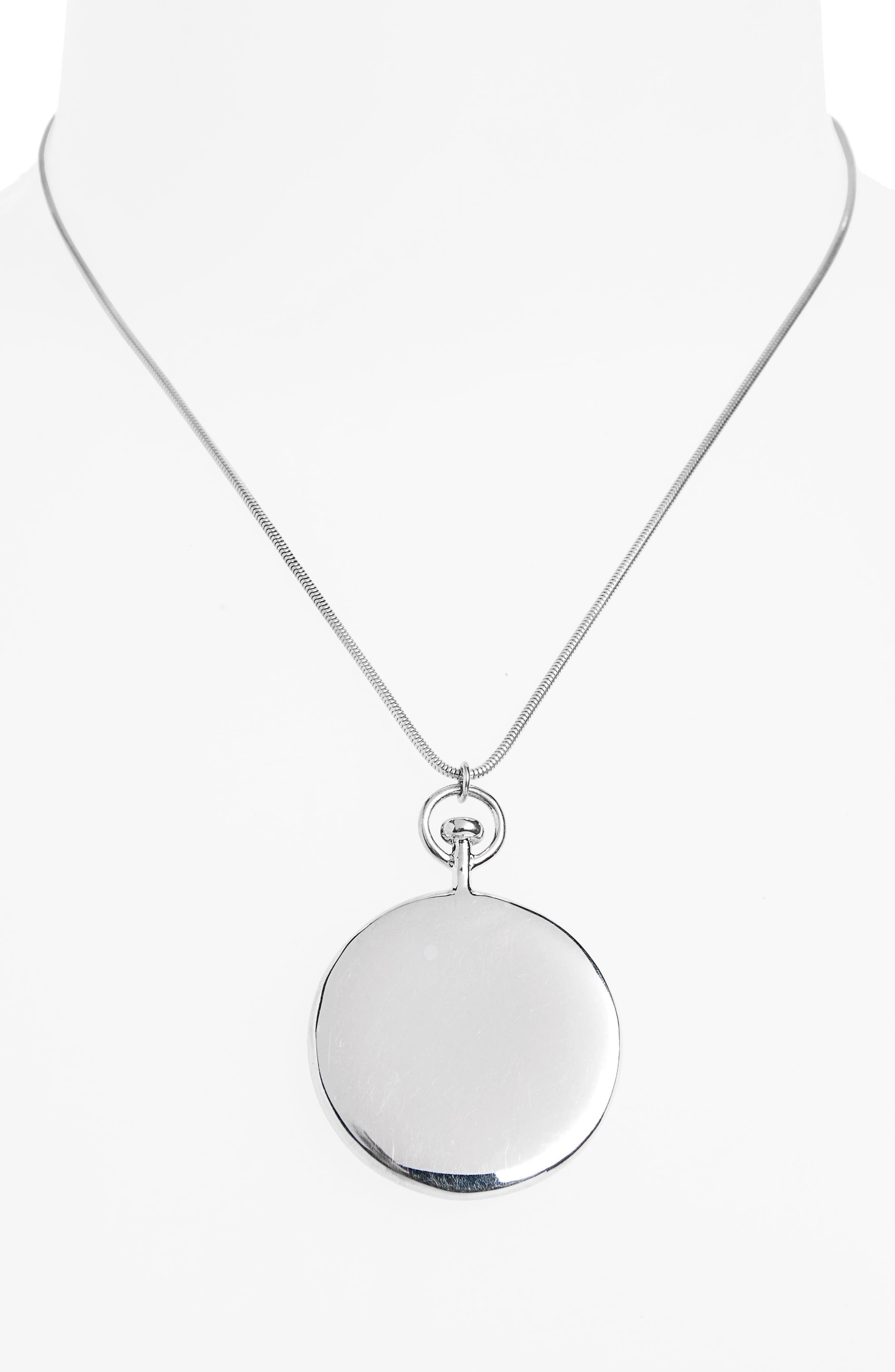 Alternate Image 2  - Sophie Buhai Short Large Circle Pendant Necklace