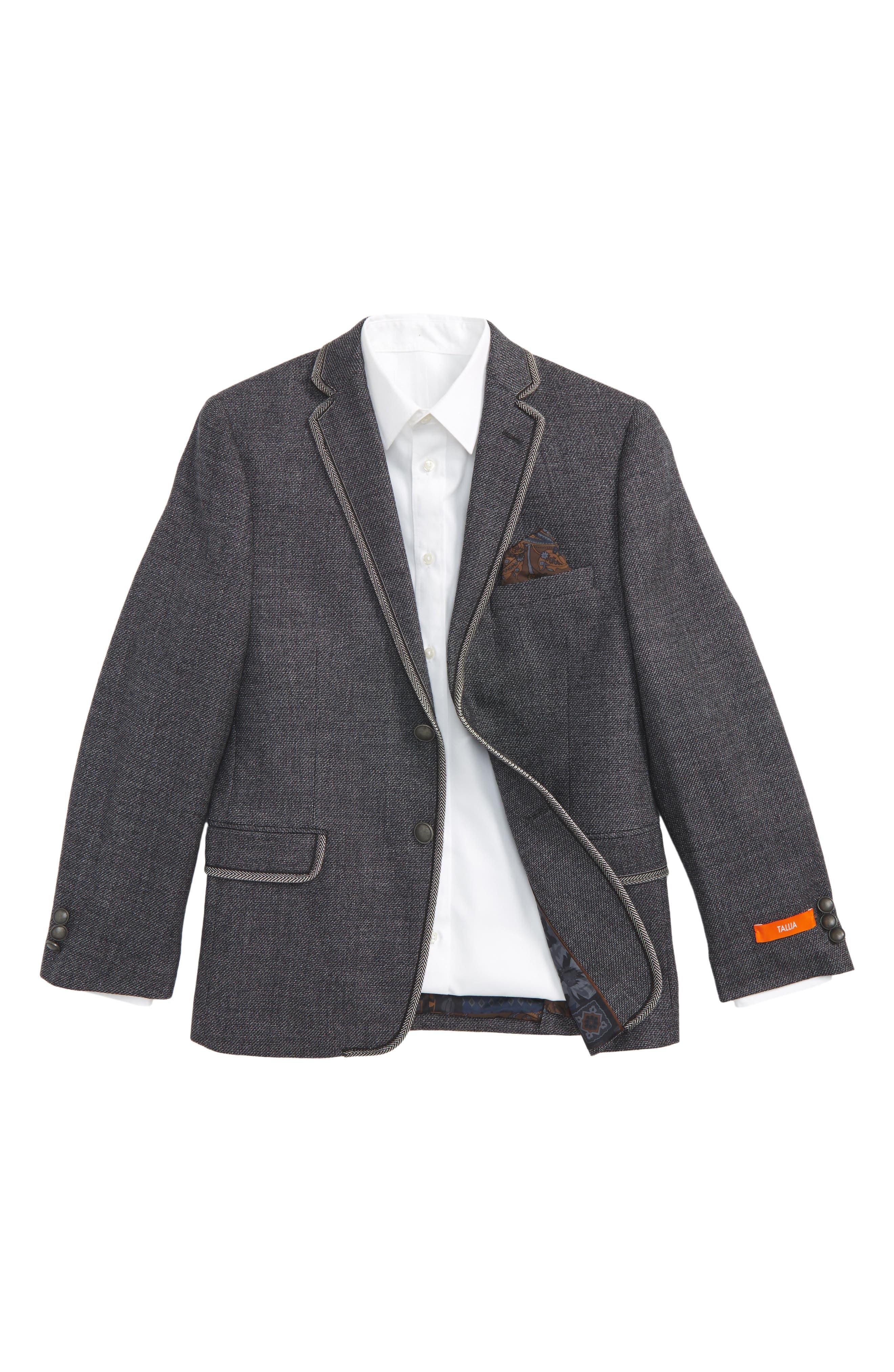 Tallia Tweed Sport Coat (Big Boys)
