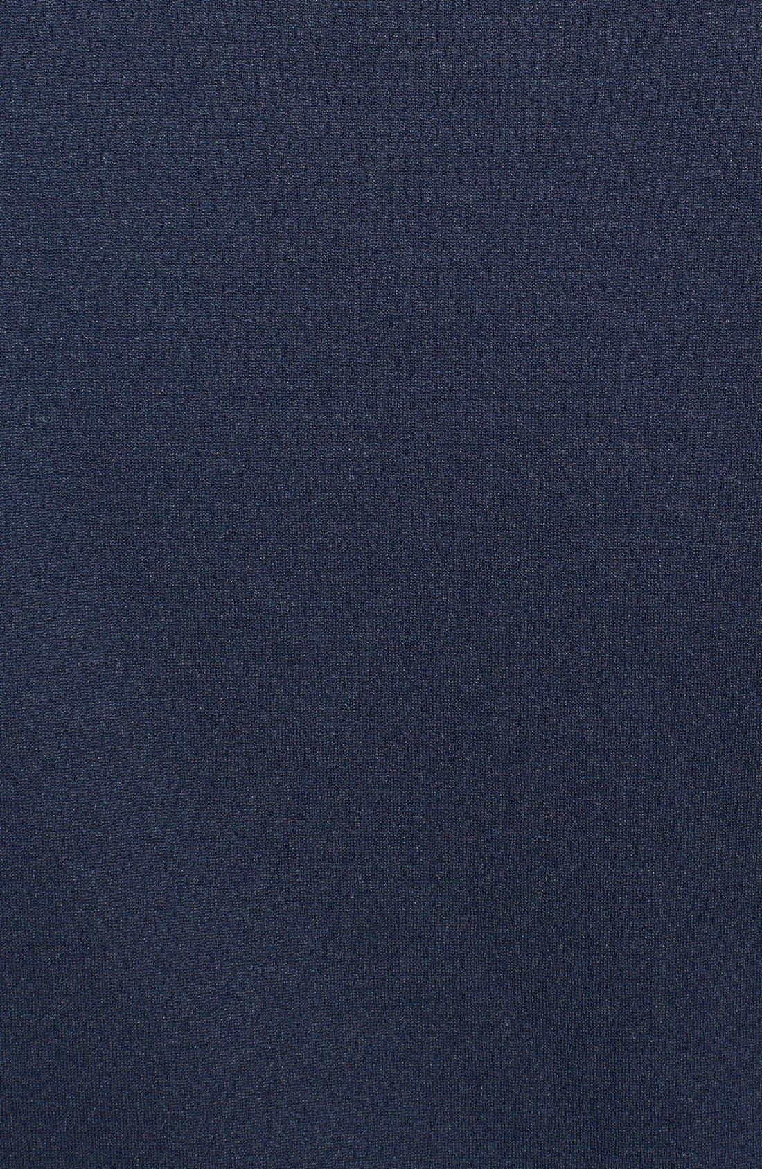 Denver Broncos - Edge DryTec Moisture Wicking Half Zip Pullover,                             Alternate thumbnail 3, color,                             Navy Blue