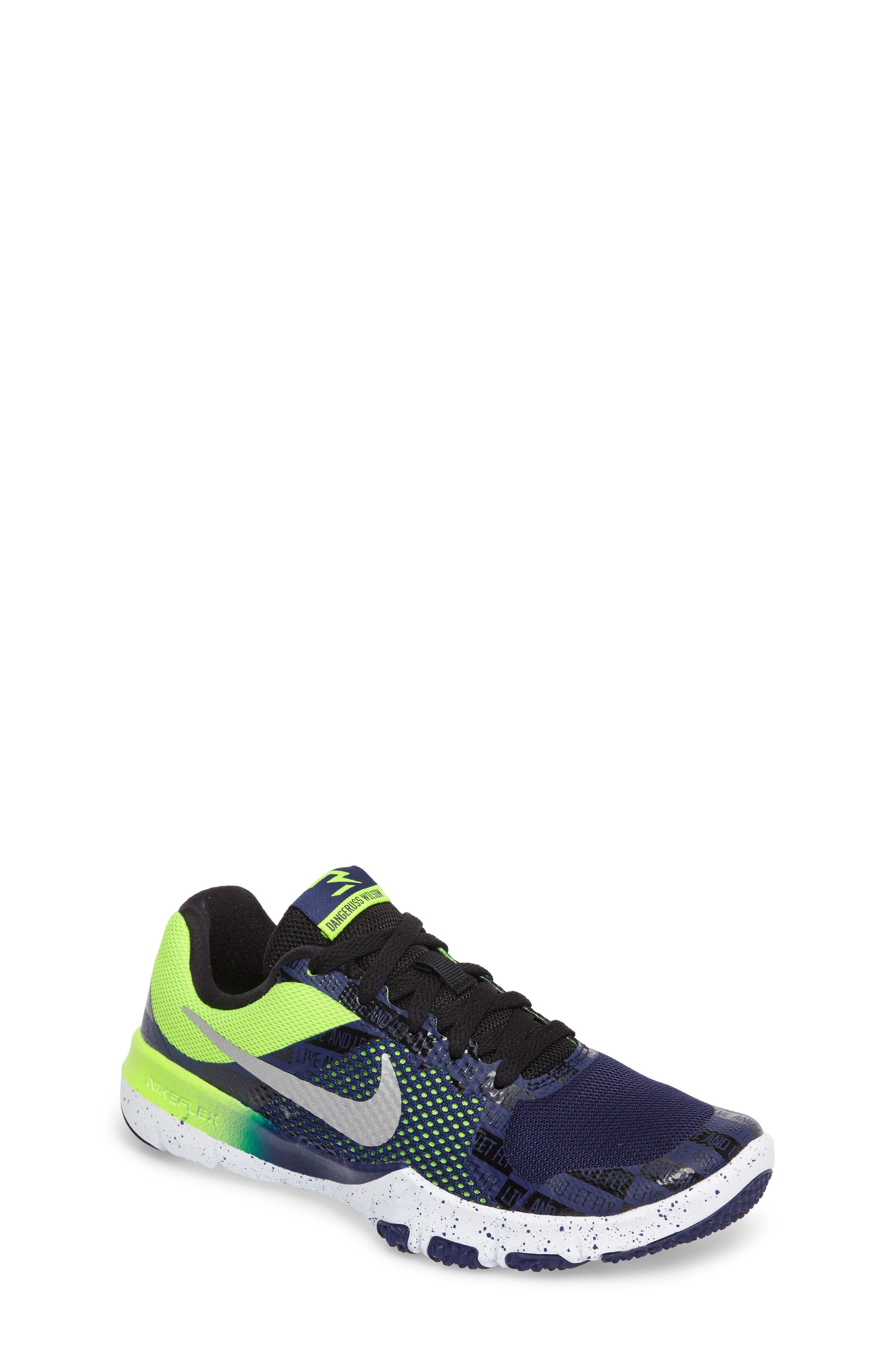 Alternate Image 1 Selected - Nike Flex TR Control Training Shoe (Toddler, Little Kid & Big Kid)