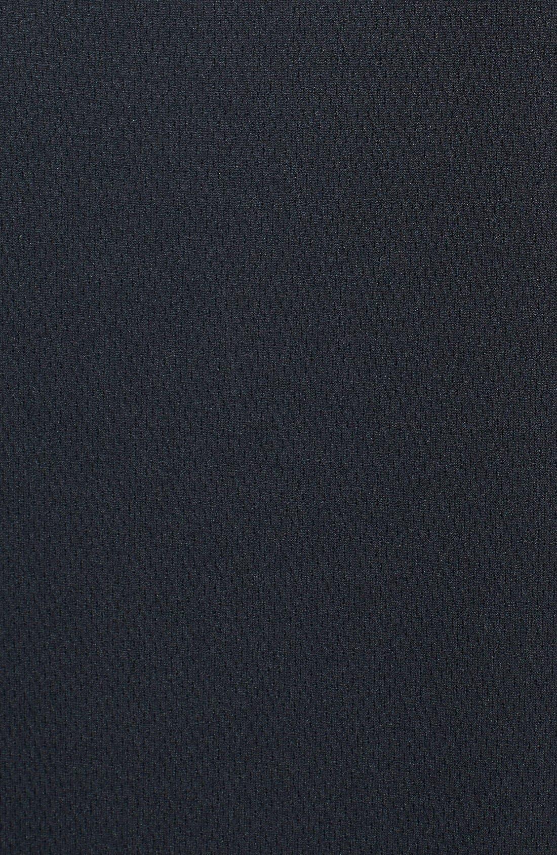 New Orleans Saints - Edge DryTec Moisture Wicking Half Zip Pullover,                             Alternate thumbnail 3, color,                             Black