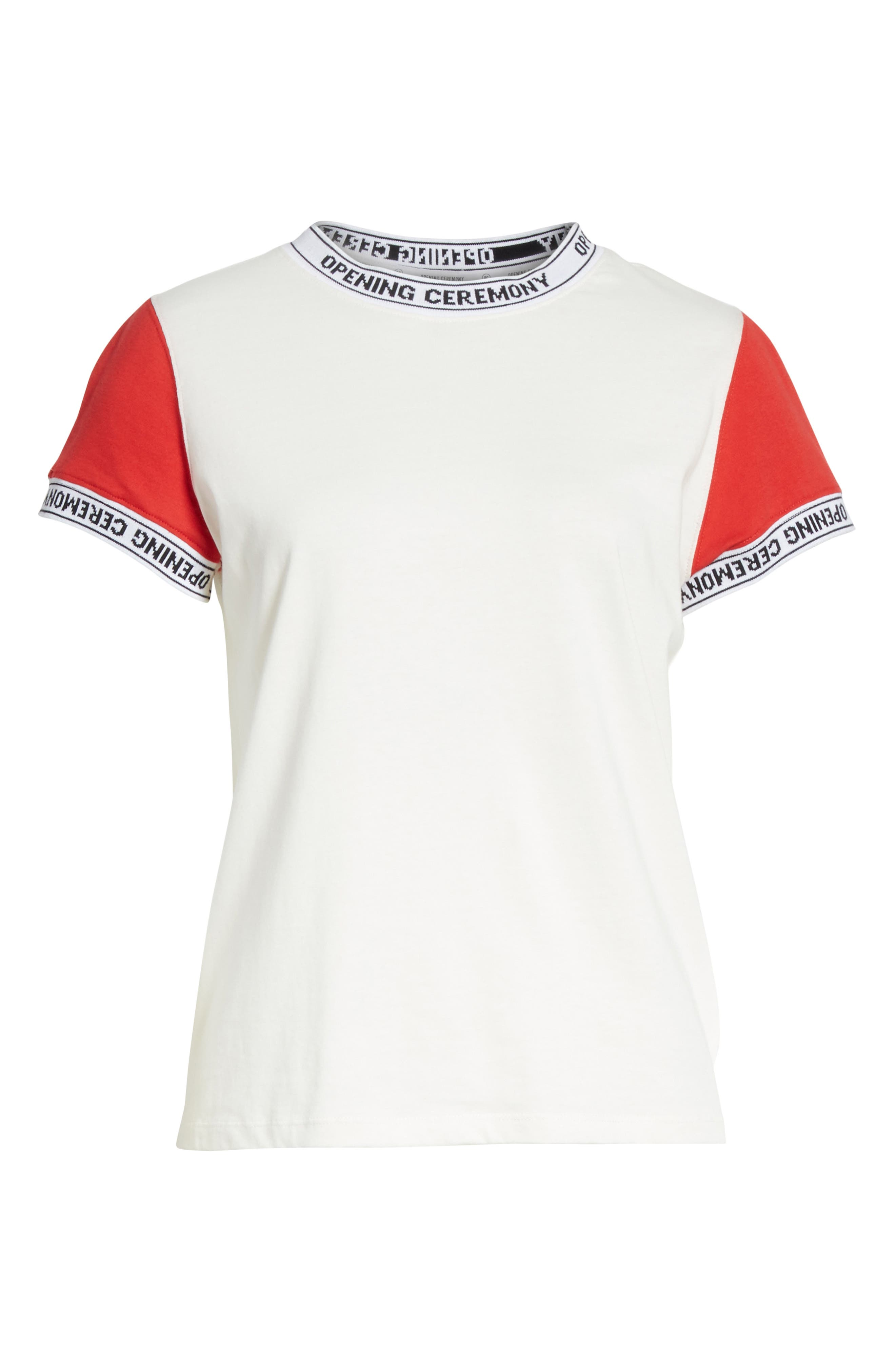 Alternate Image 6  - Opening Ceremony Banded Tee (Limited Edition)