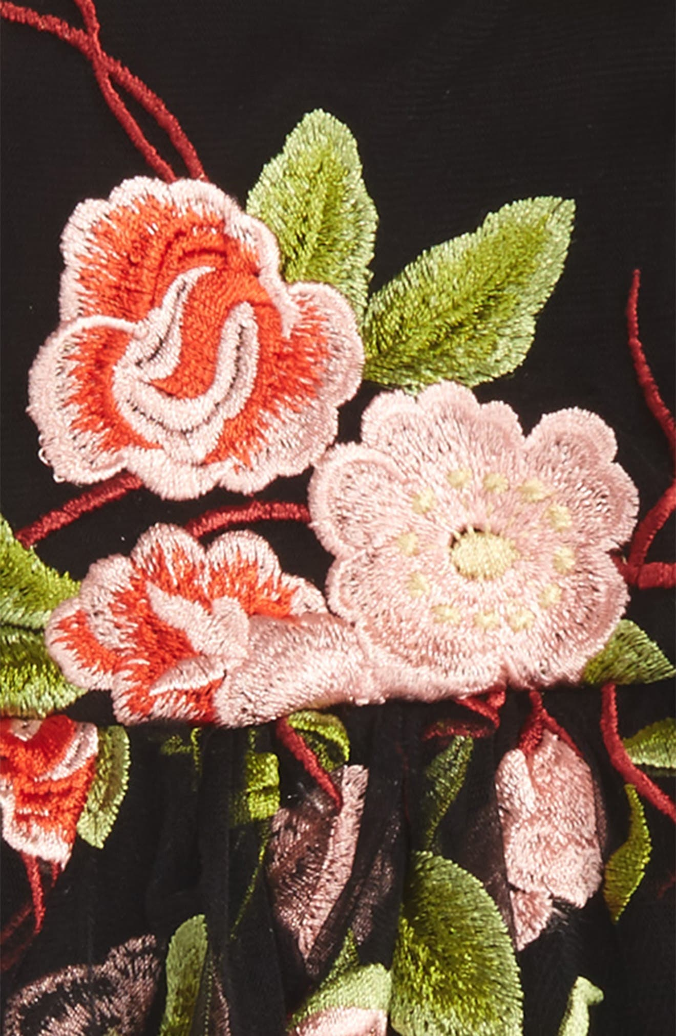 Holly Floral Dress,                             Alternate thumbnail 2, color,                             Floral