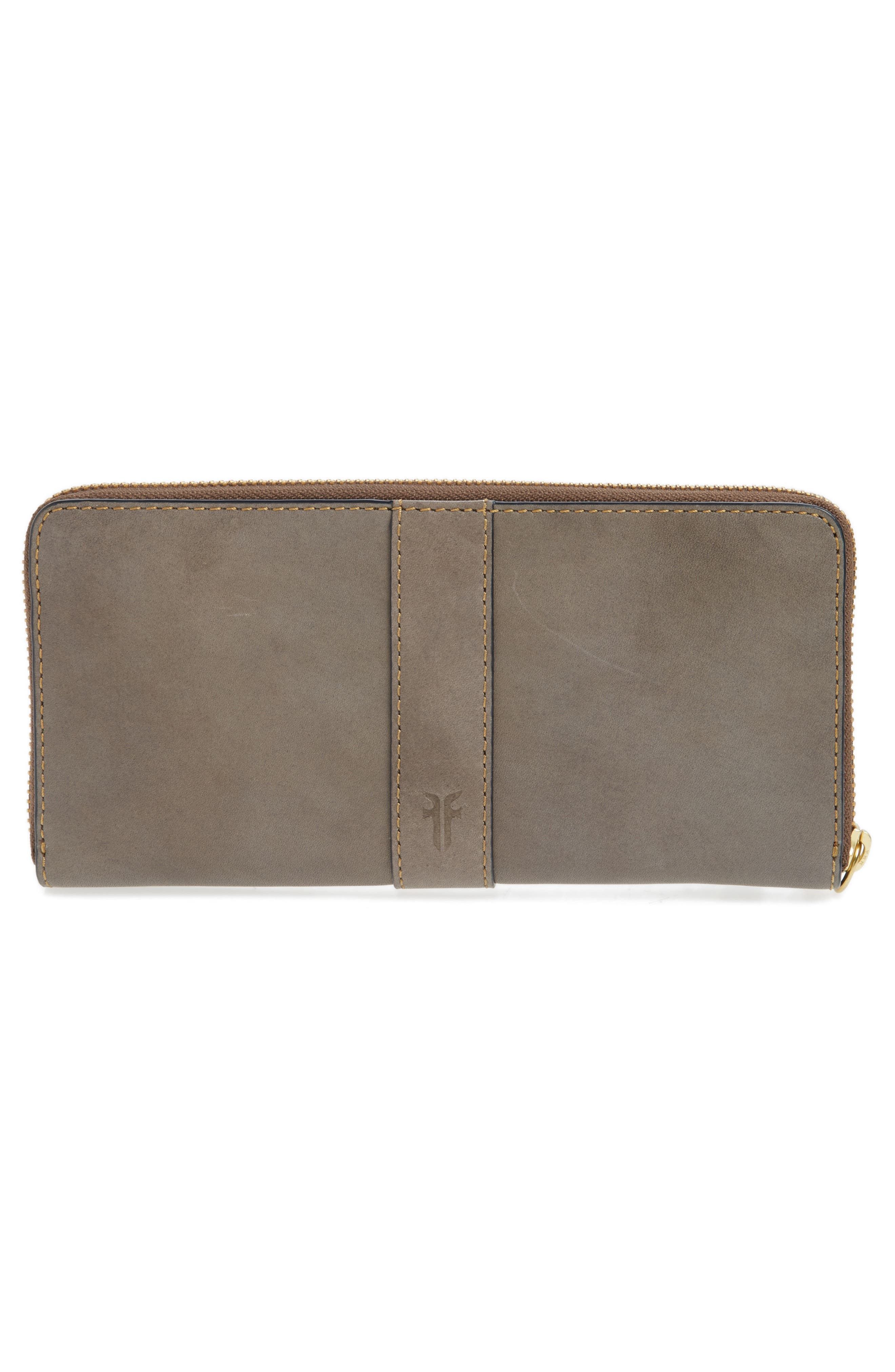 Alternate Image 2  - Frye Ilana Harness Leather Zip Wallet