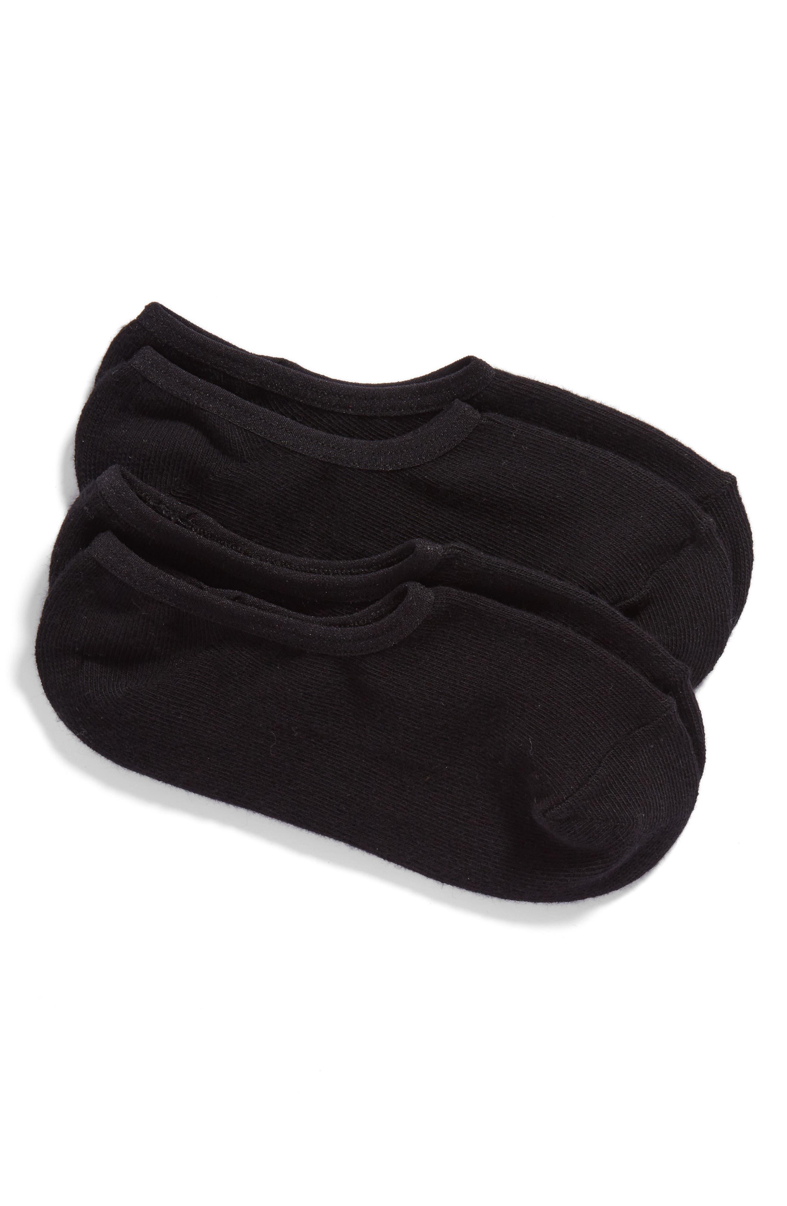 Main Image - SOCKART 2-Pack Liner Socks