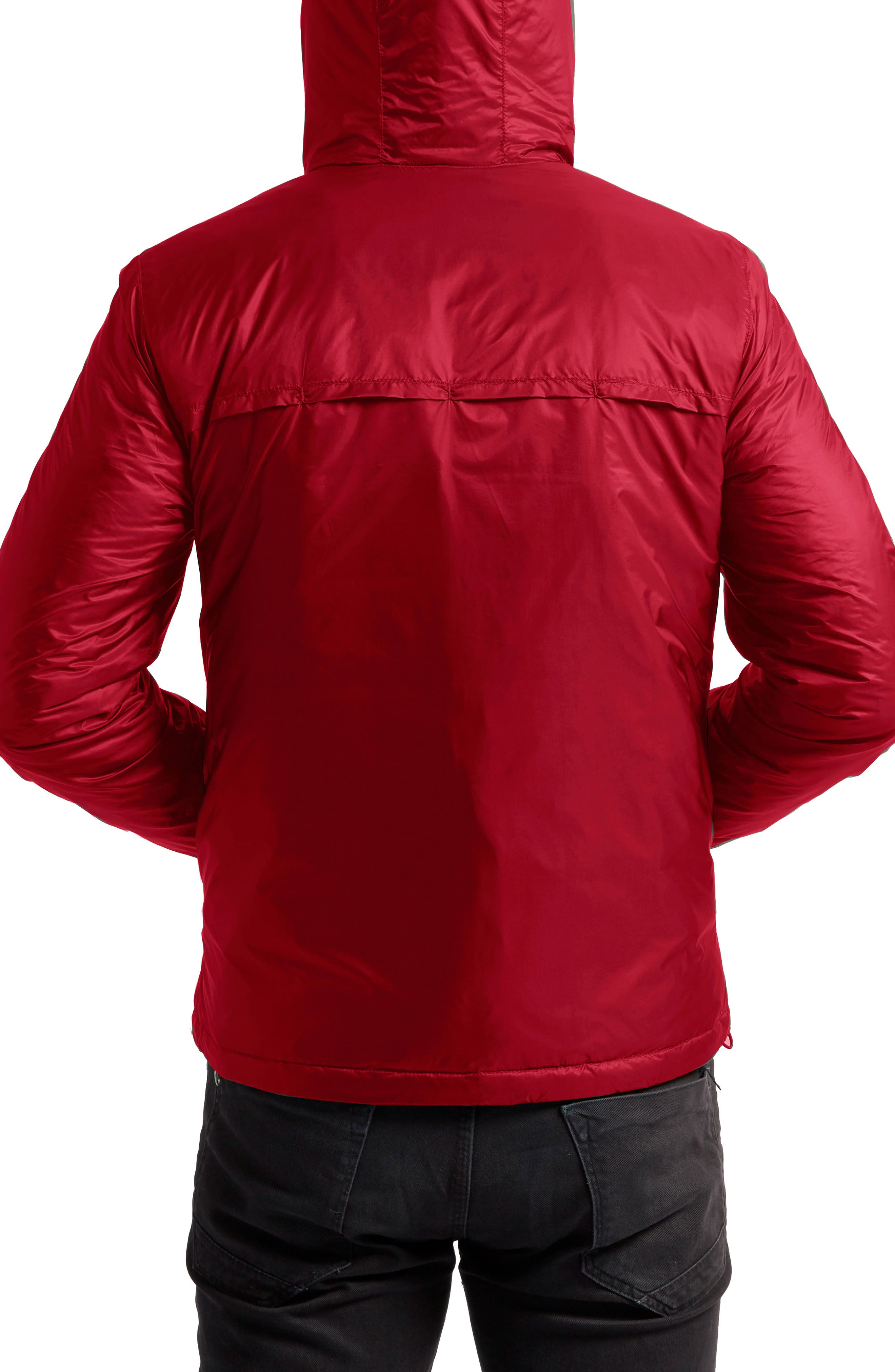 Arvada Packable Heat System Hooded Jacket,                             Alternate thumbnail 2, color,                             Cardinal