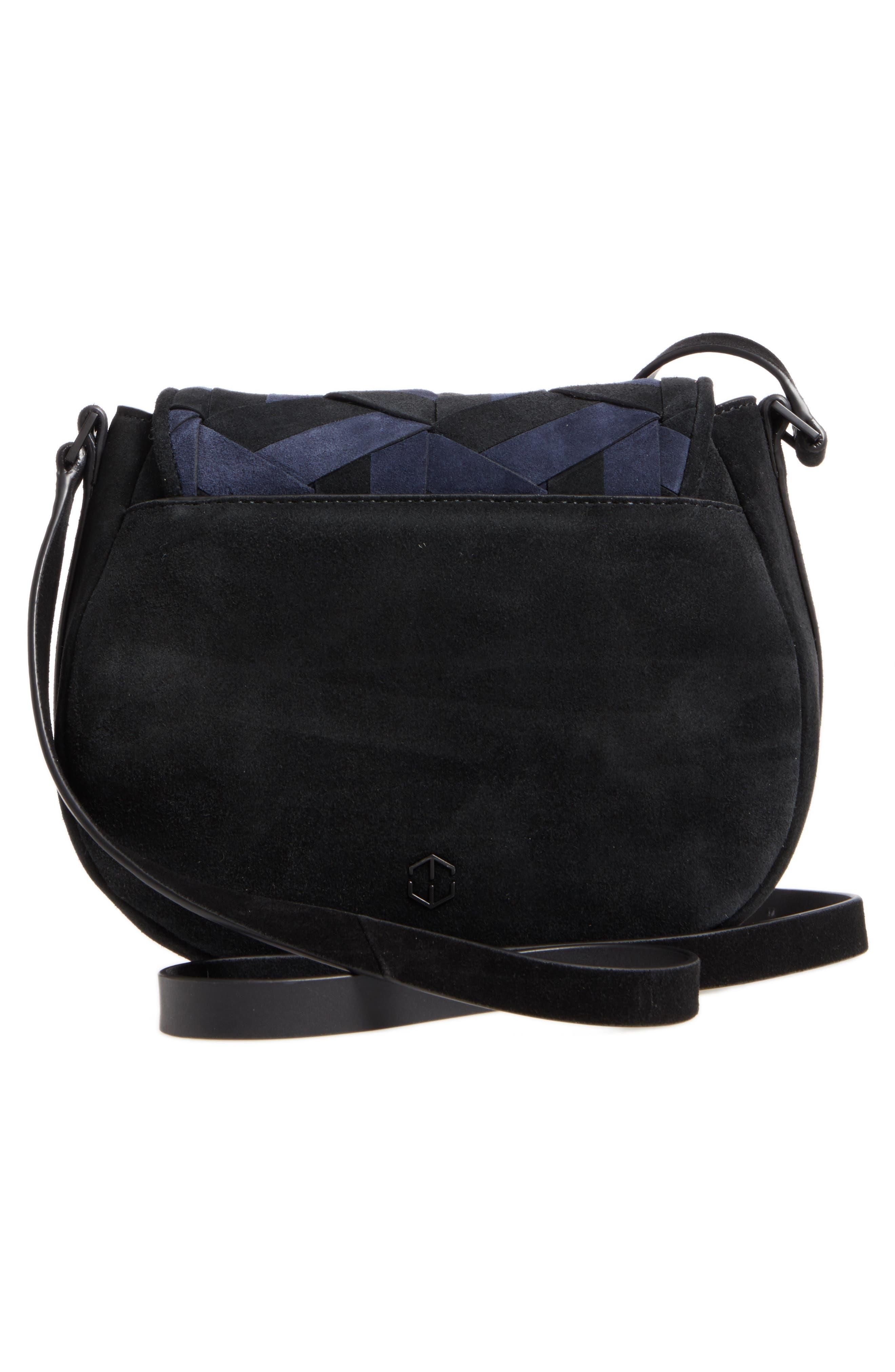 Alternate Image 3  - WELDEN Escapade Suede Saddle Bag