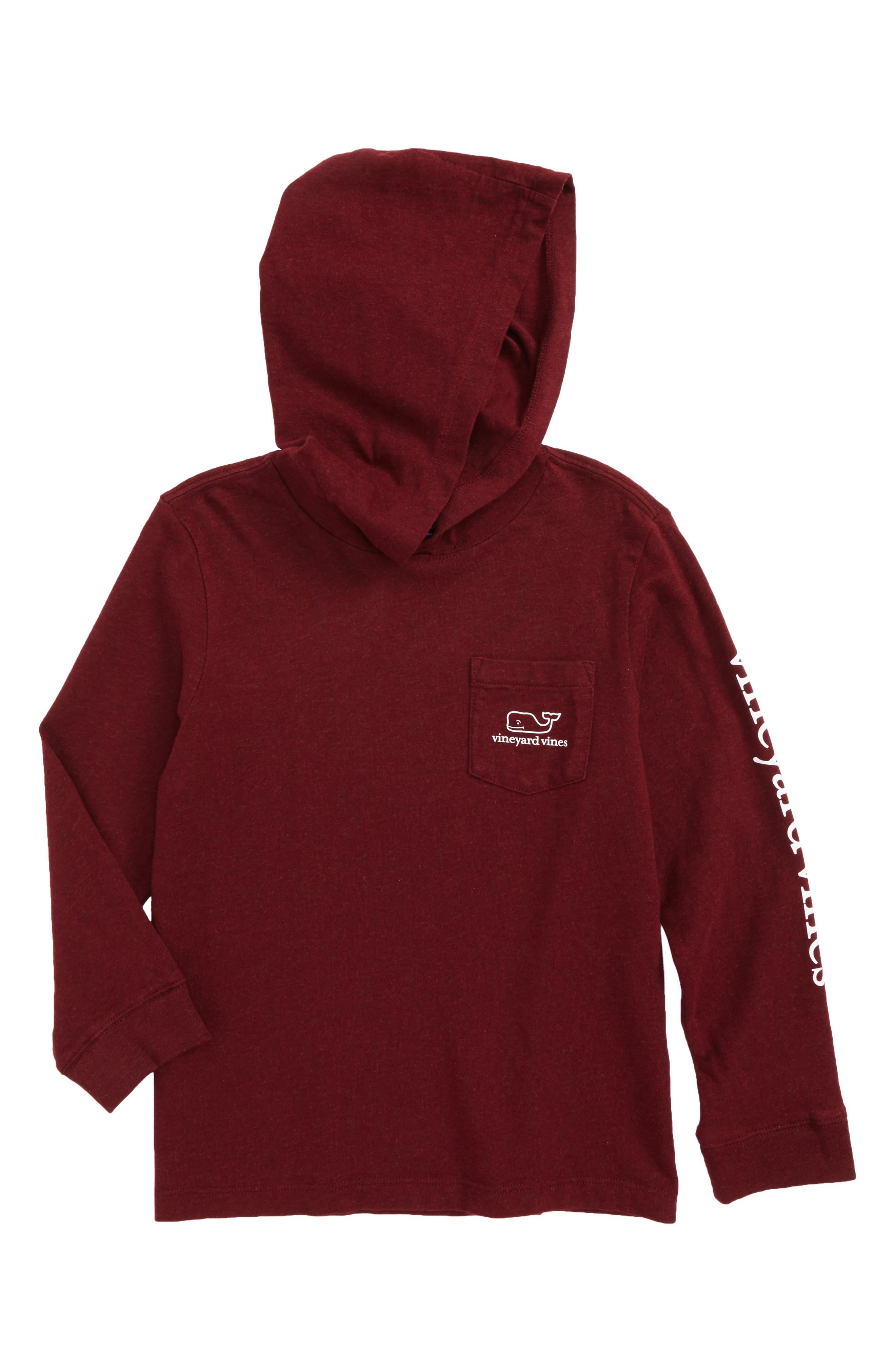 vineyard vines Whale Hooded T-Shirt (Toddler Boys & Little Boys)