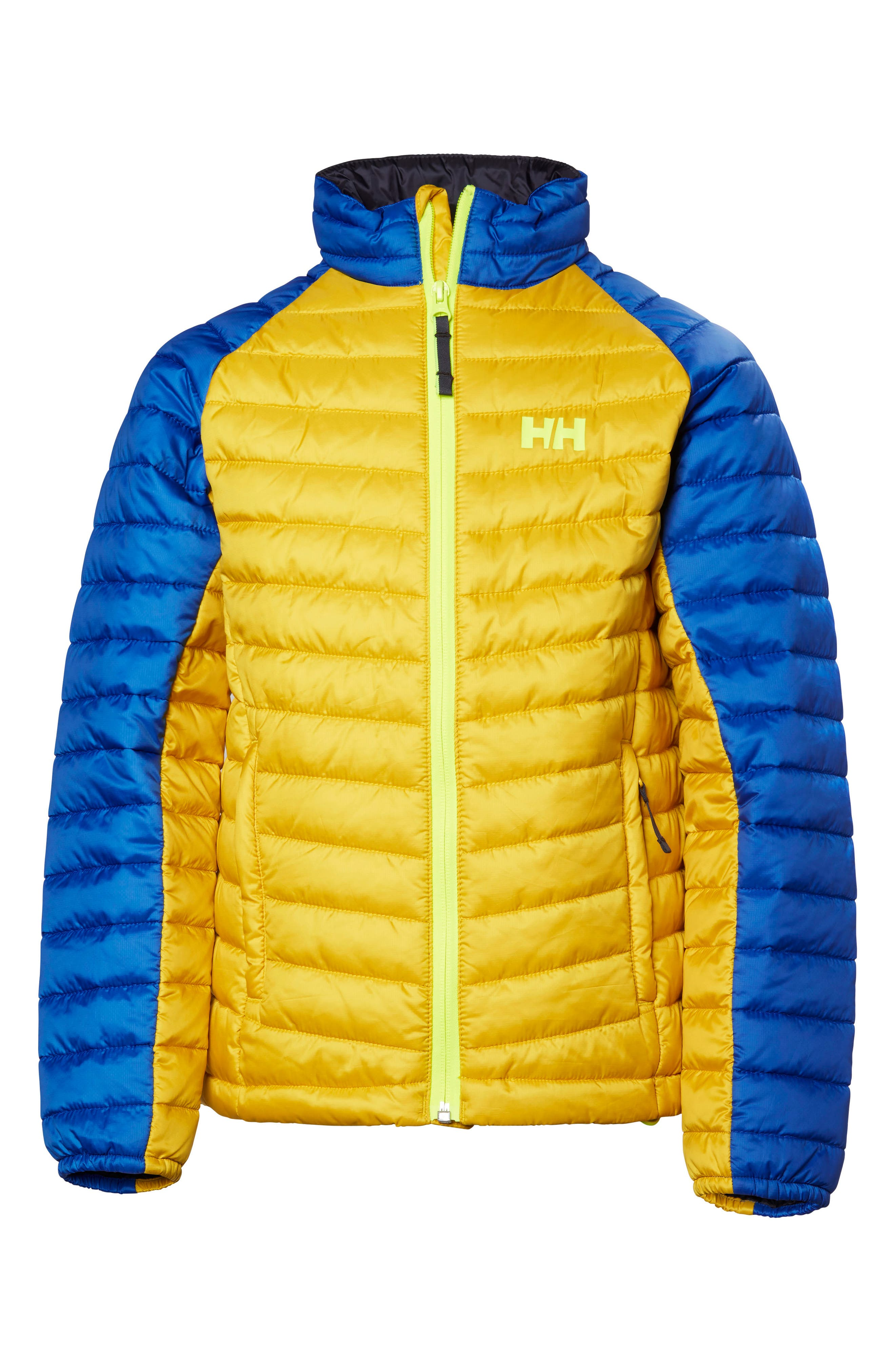 Alternate Image 1 Selected - Helly Hansen Jr Juell Insulator Water Repellent Jacket (Big Boys)