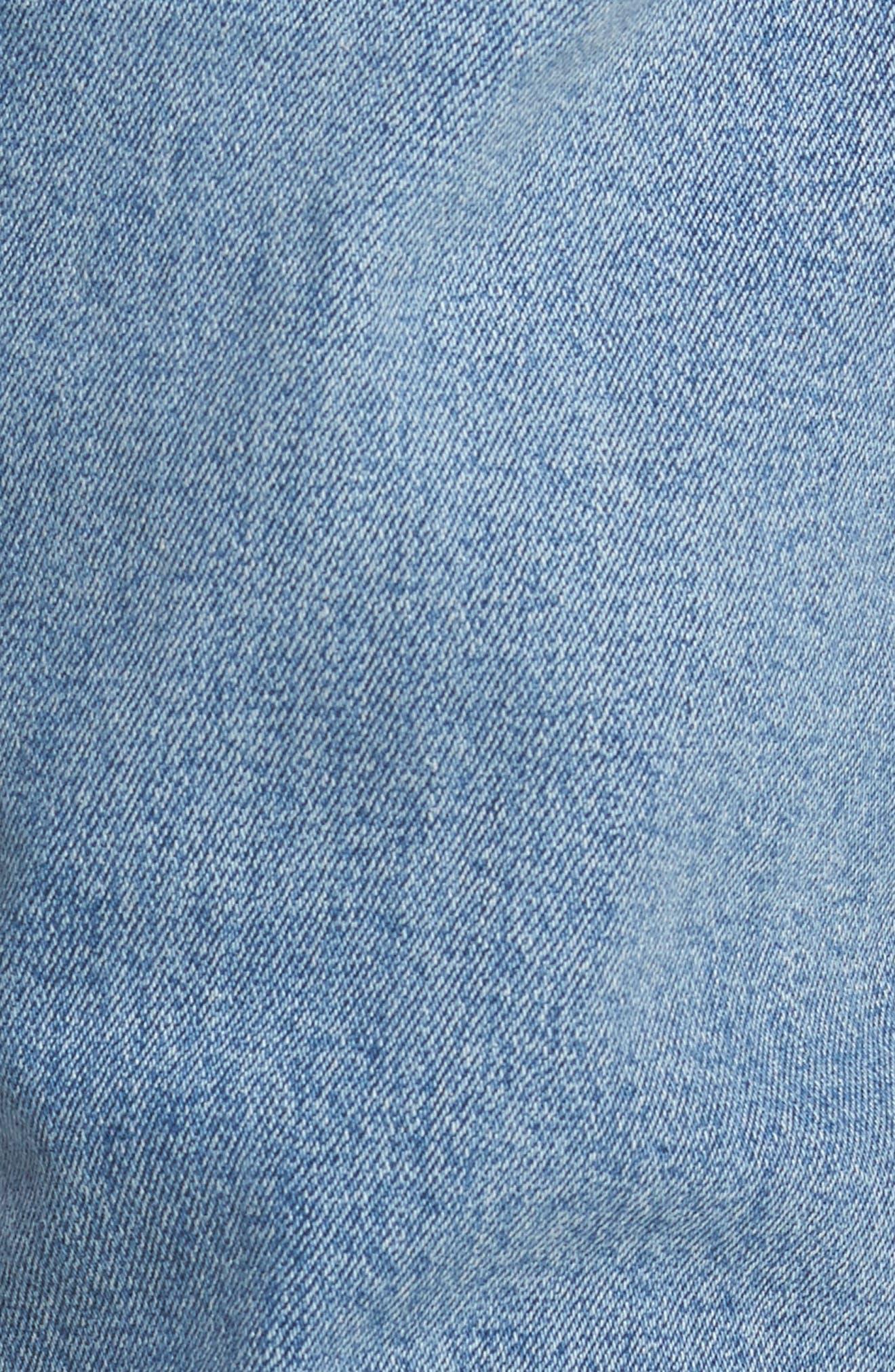 Alternate Image 5  - Dr. Denim Supply Co. Clark Slim Straight Leg Jeans (Worn Light Retro)