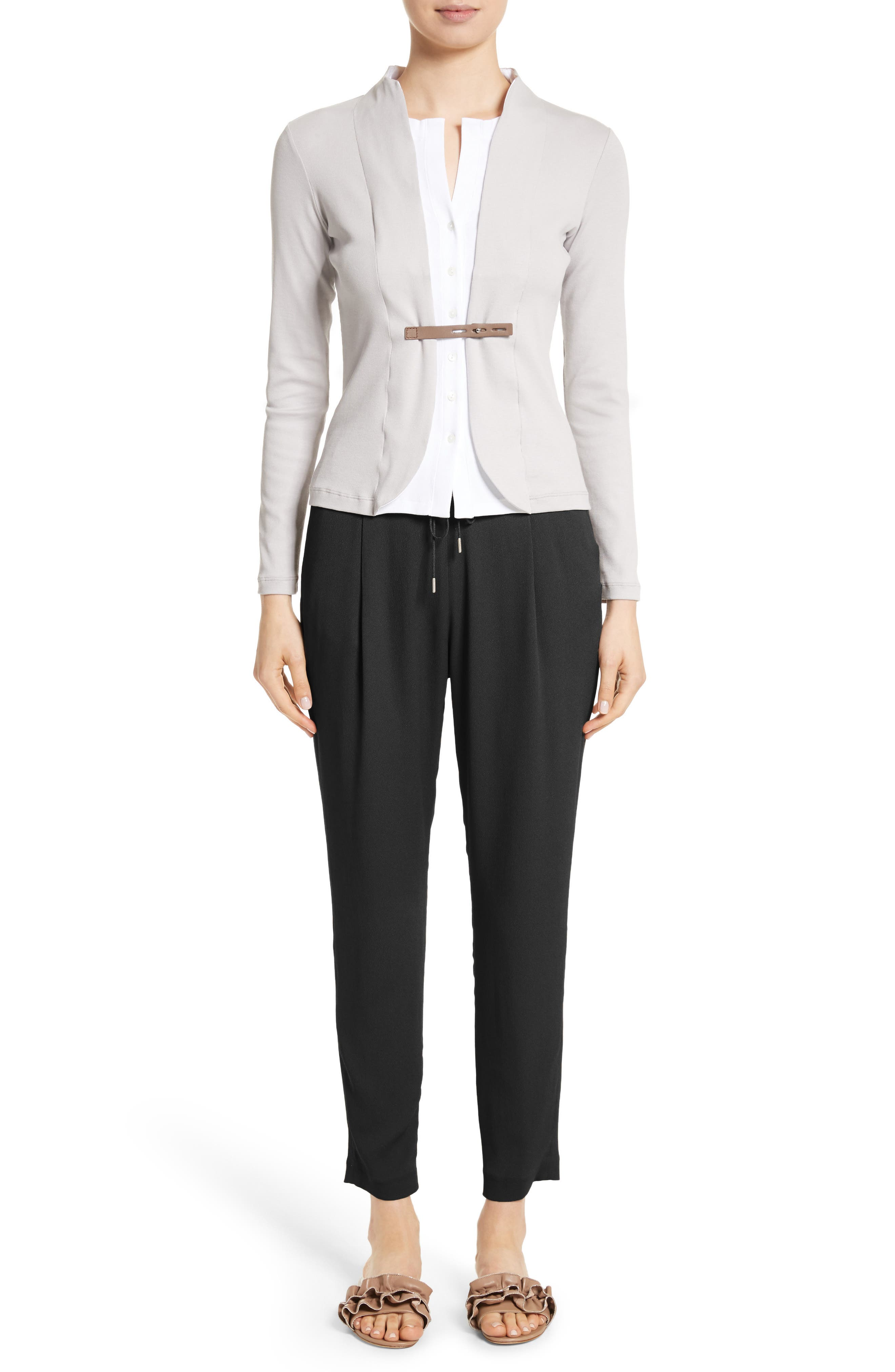 Alternate Image 8  - Fabiana Filippi Crop Drawstring Pants