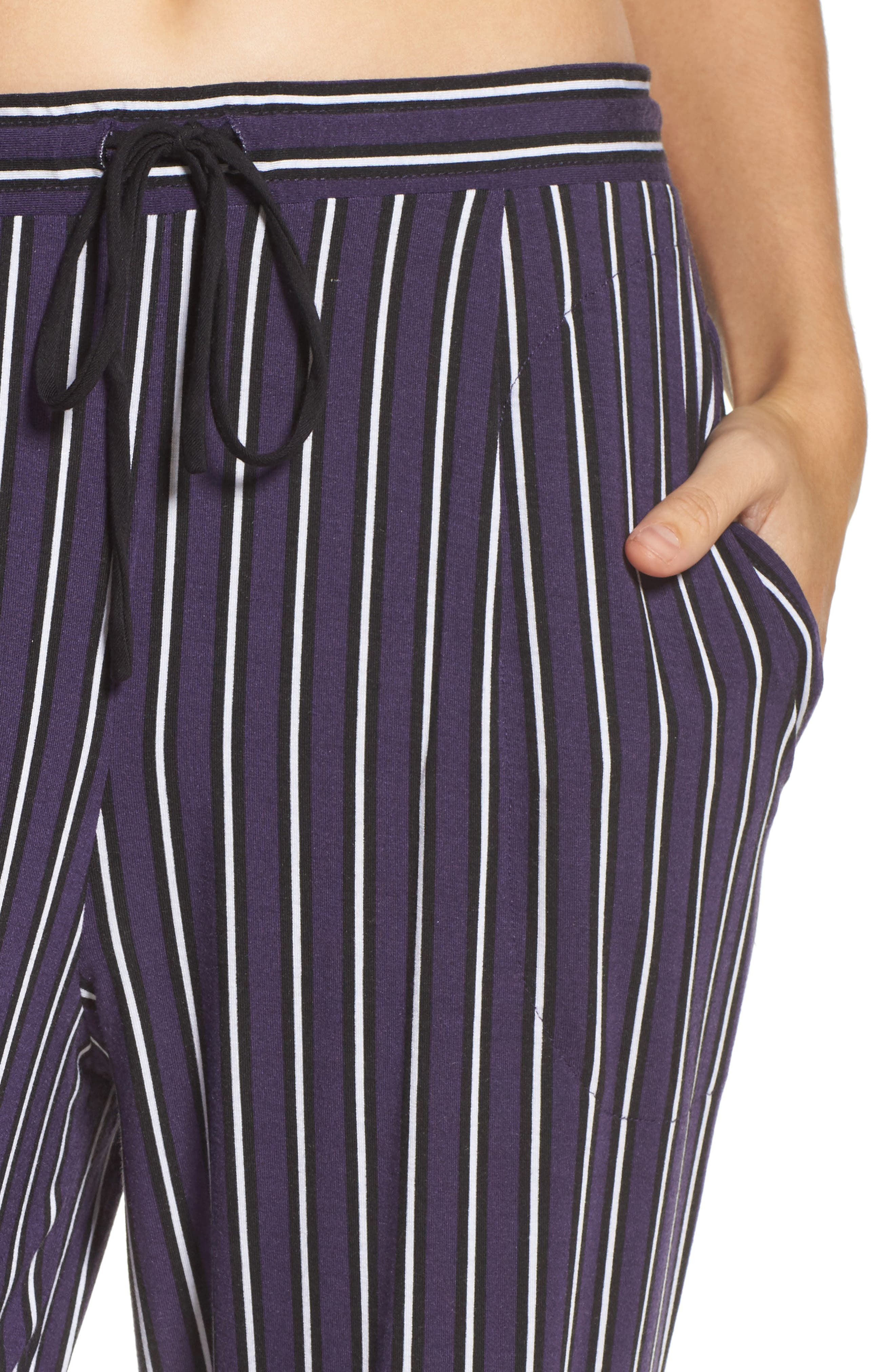 Alternate Image 5  - DKNY Jersey Lounge Pants