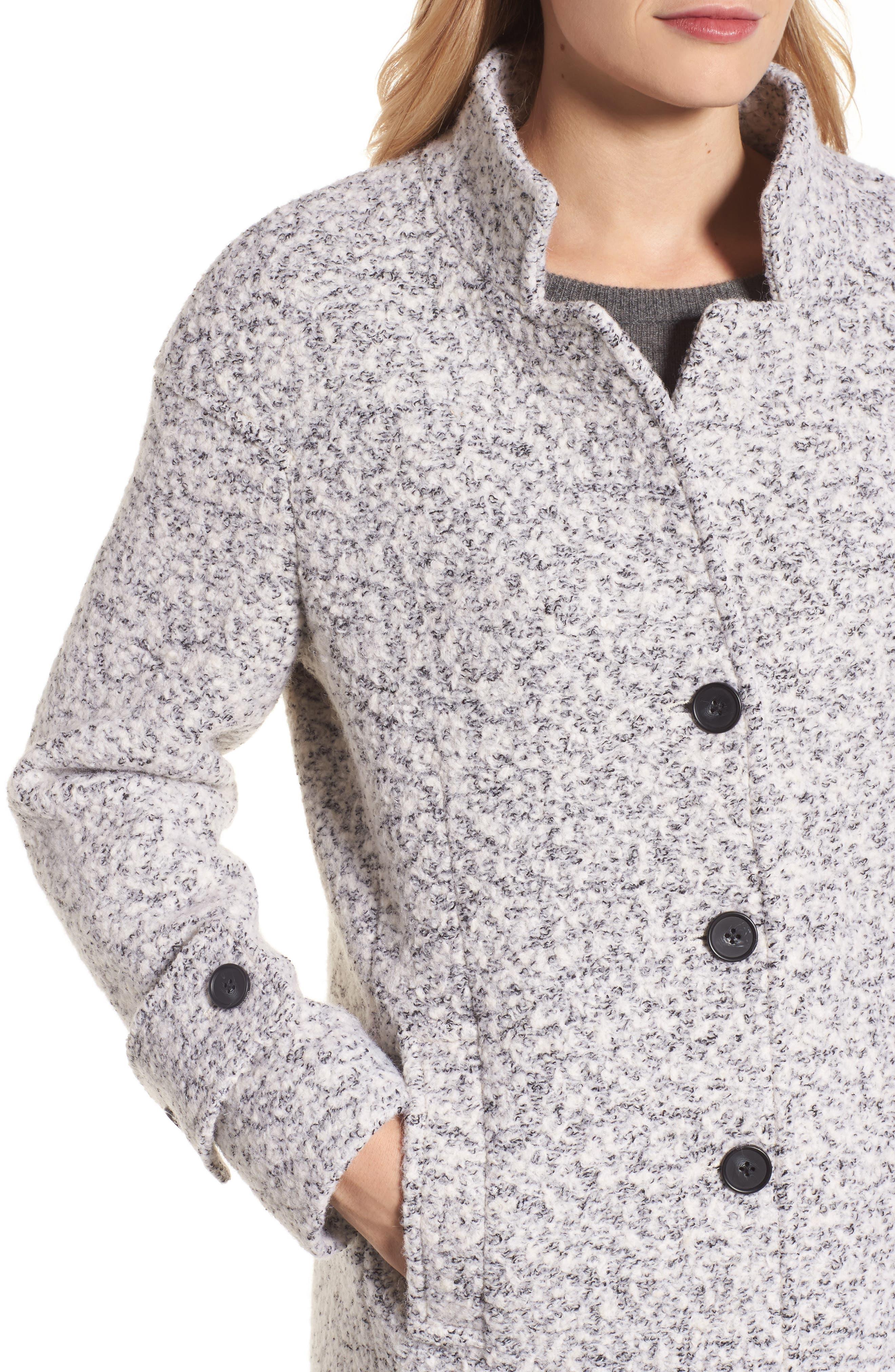 Alternate Image 4  - Lucky Brand Boiled Wool Coat