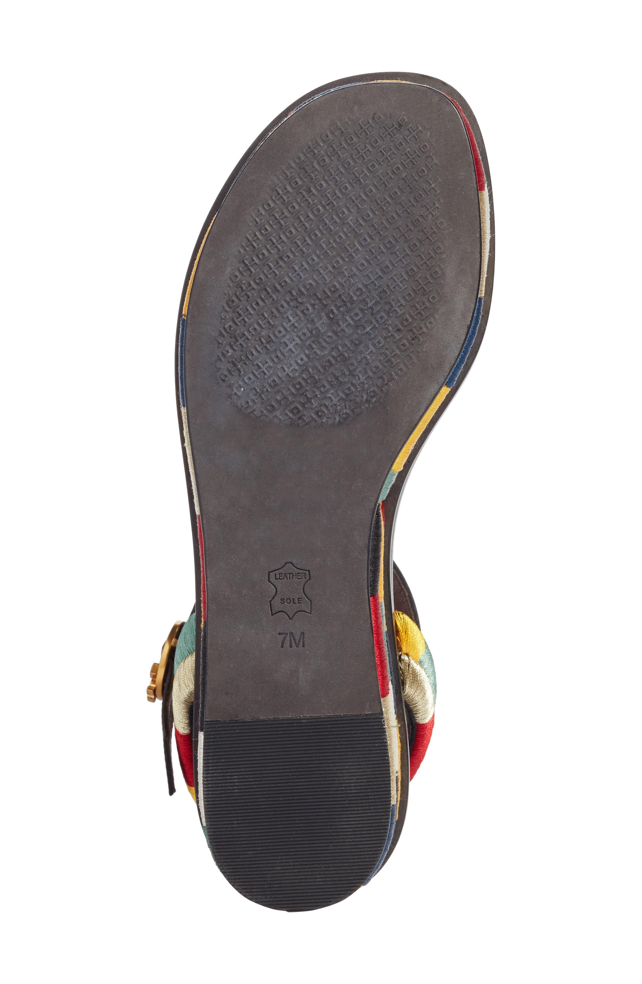Camilla Platform Sandal,                             Alternate thumbnail 7, color,                             Black