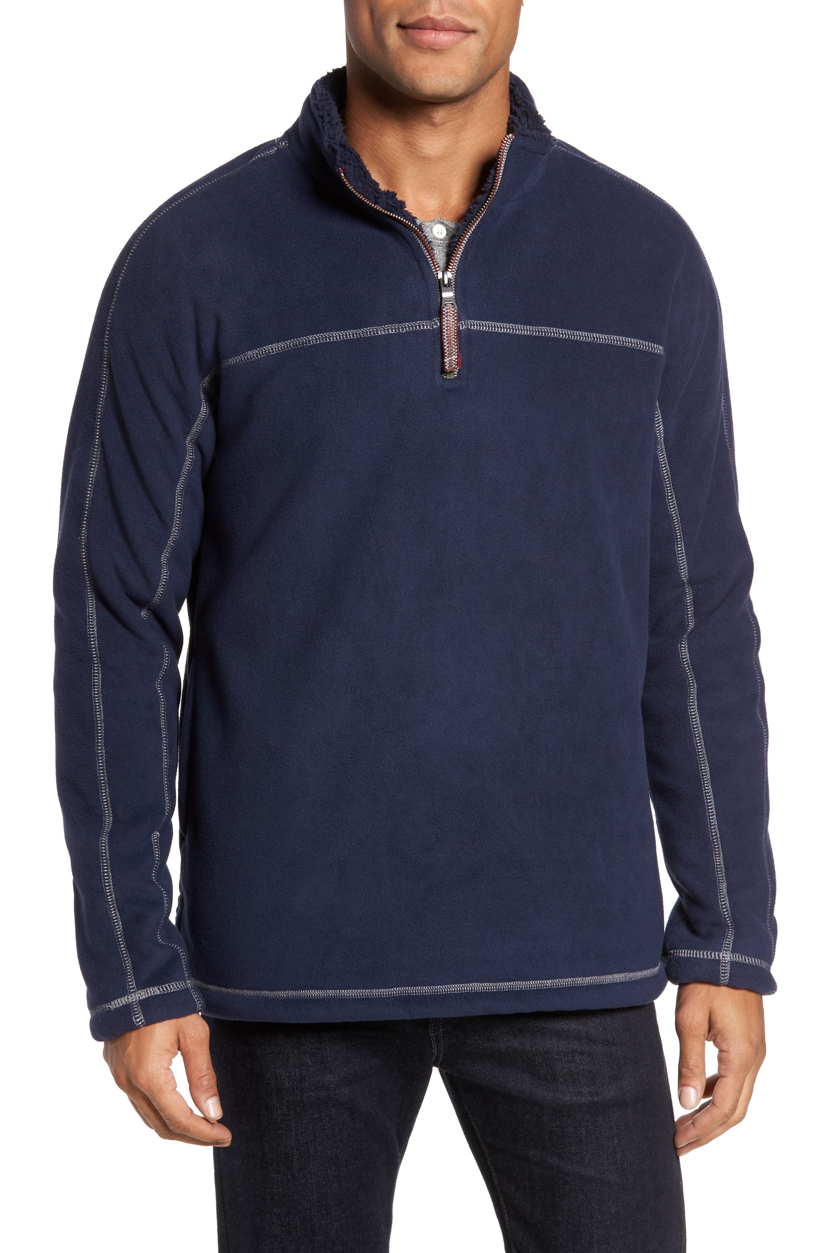 Alternate Image 1 Selected - True Grit Bonded Polar Fleece Lined Pullover