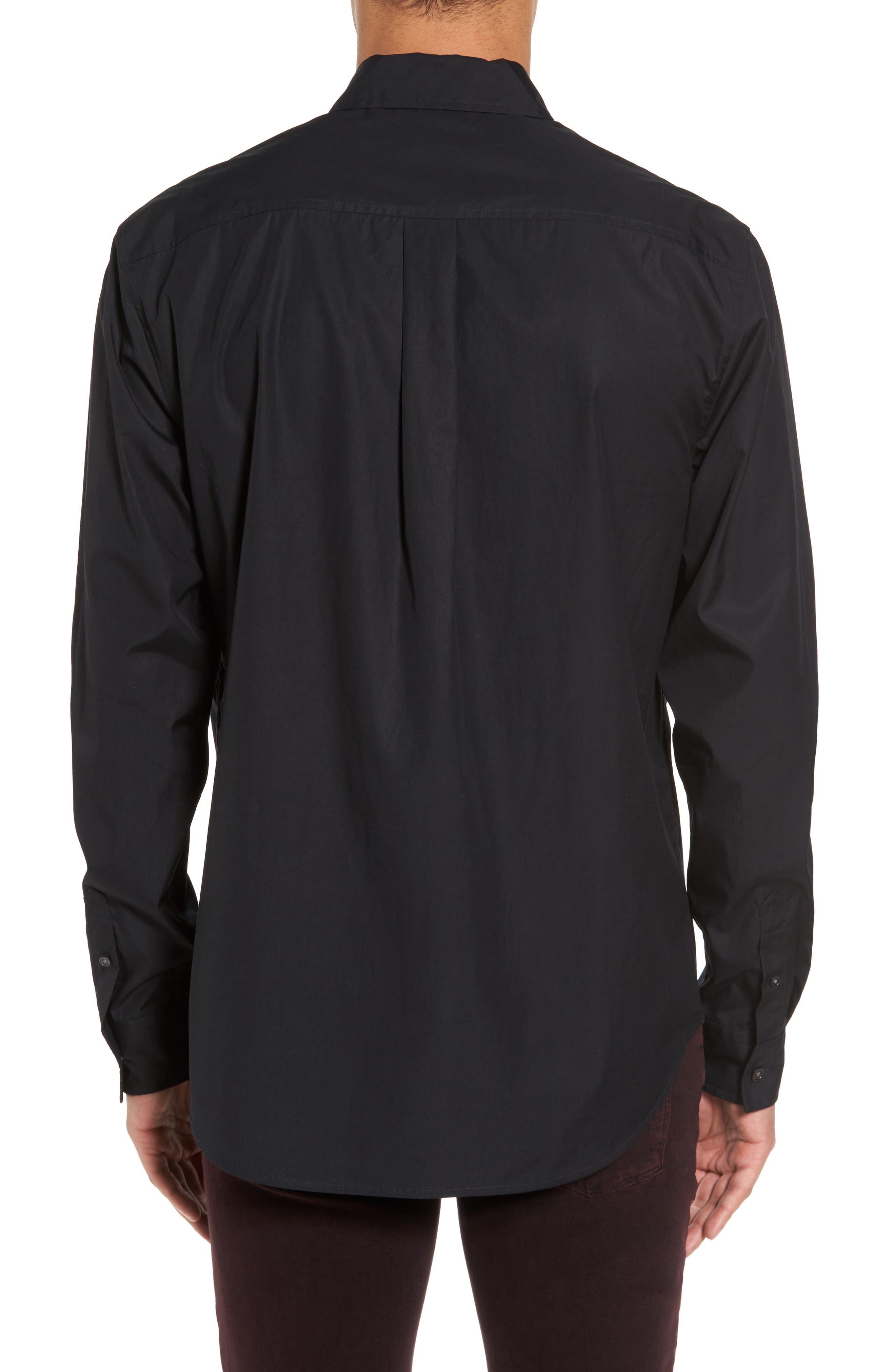 Alternate Image 2  - Vince Military Flap Pocket Sport Shirt