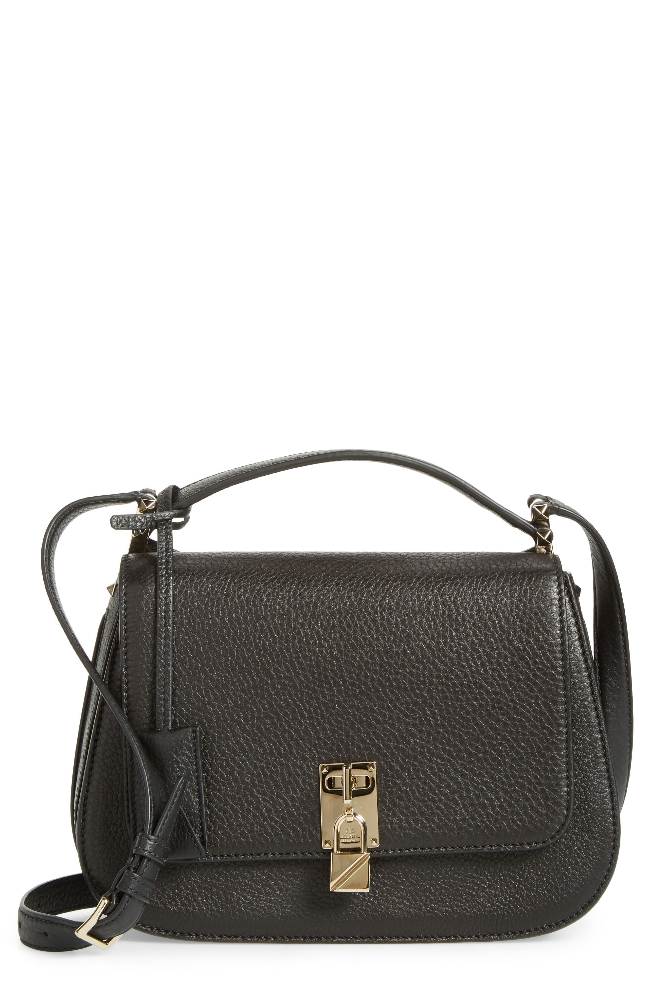 VALENTINO GARAVANI Pieper Calfskin Crossbody Bag