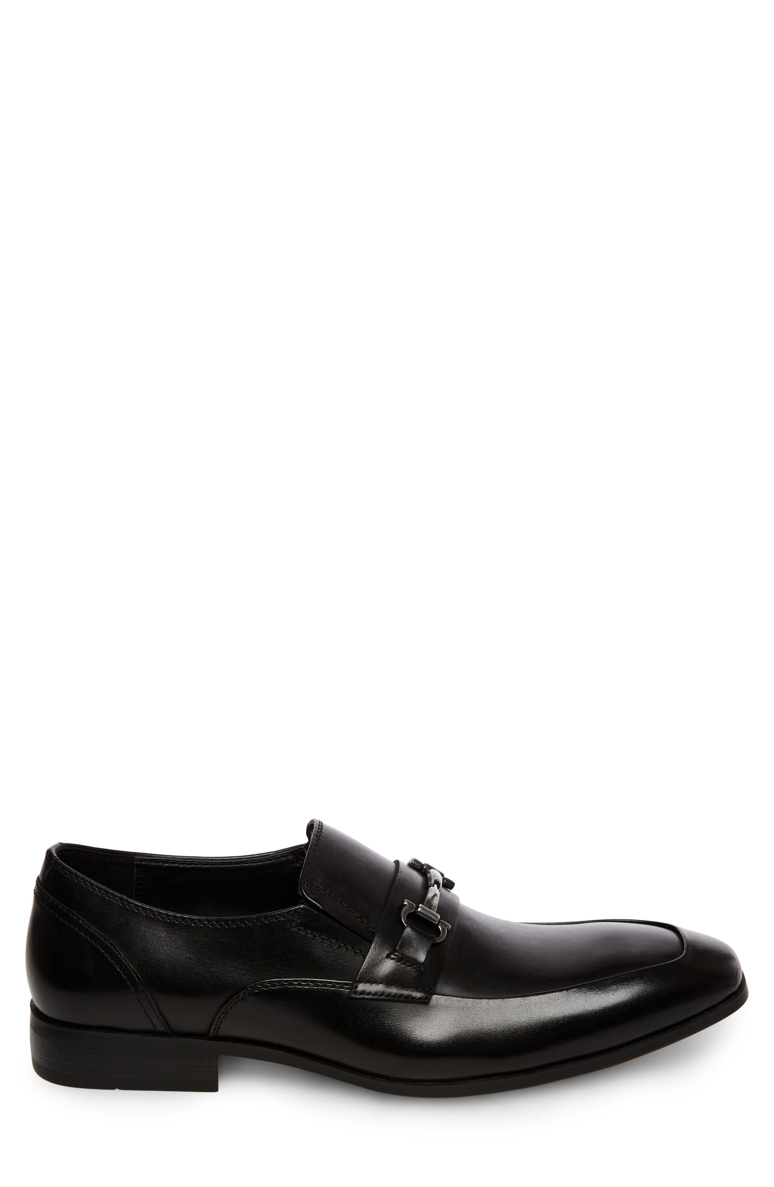 Mendal Bit Loafer,                             Alternate thumbnail 3, color,                             Black
