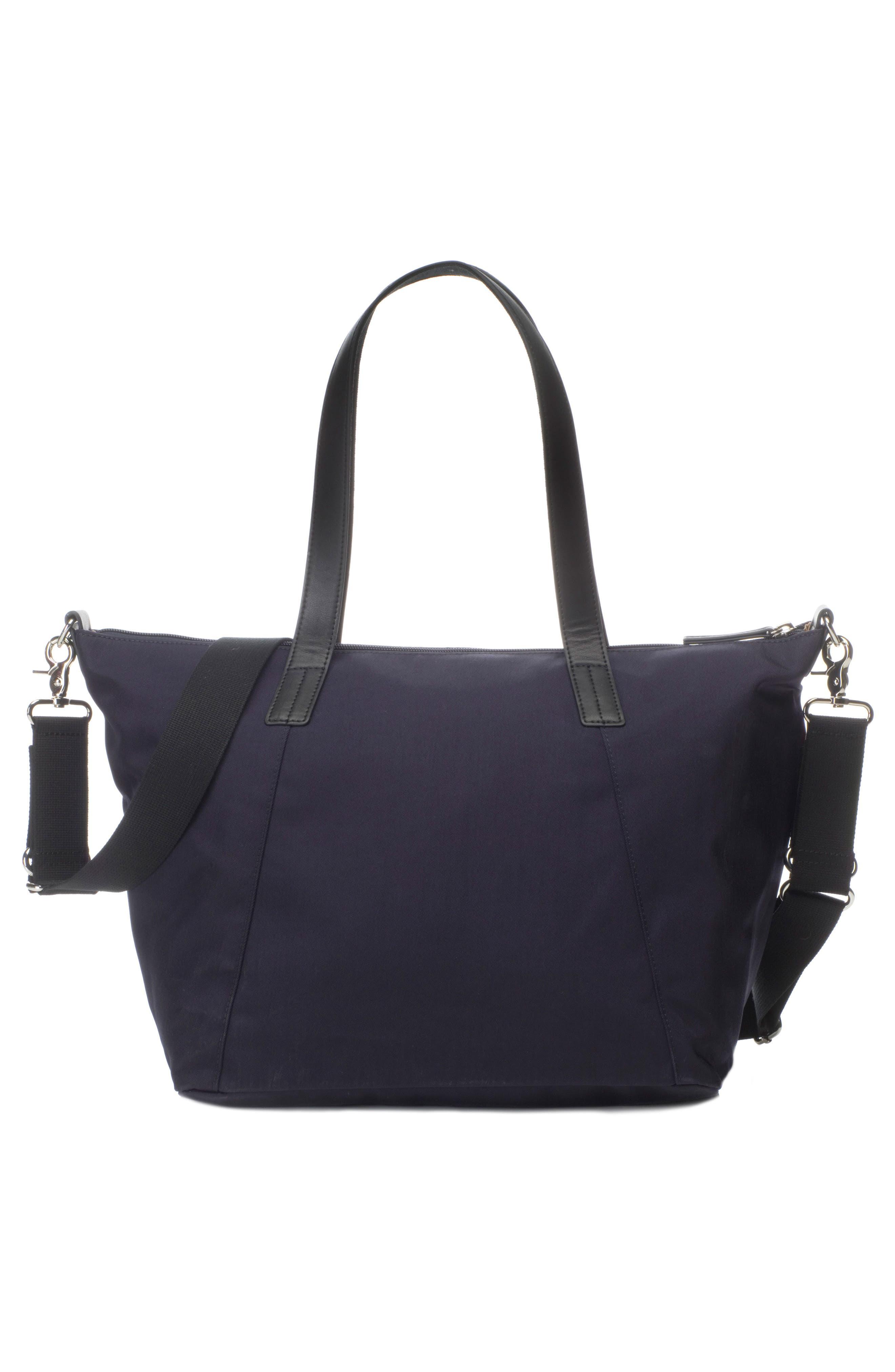 Noa Luxe Diaper Bag,                             Alternate thumbnail 3, color,                             Midnight Blue