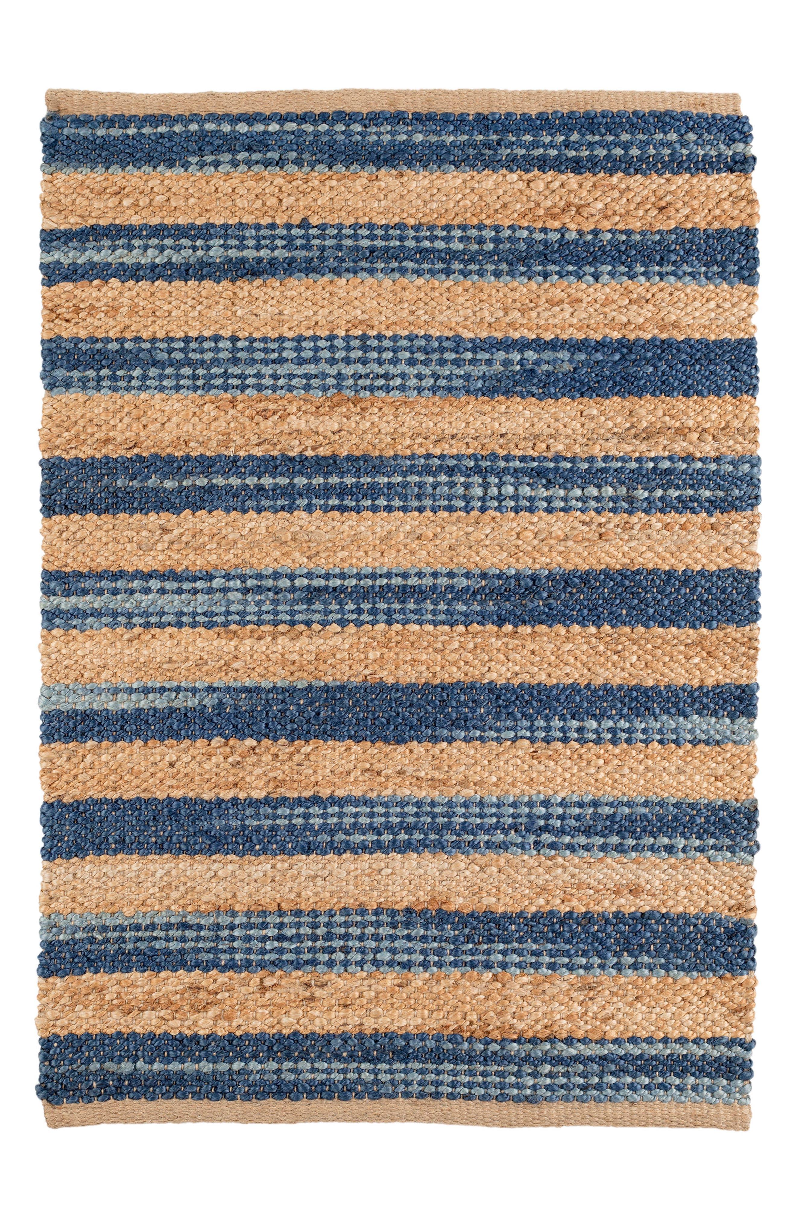 Corfu Woven Wool Rug,                         Main,                         color, Blue