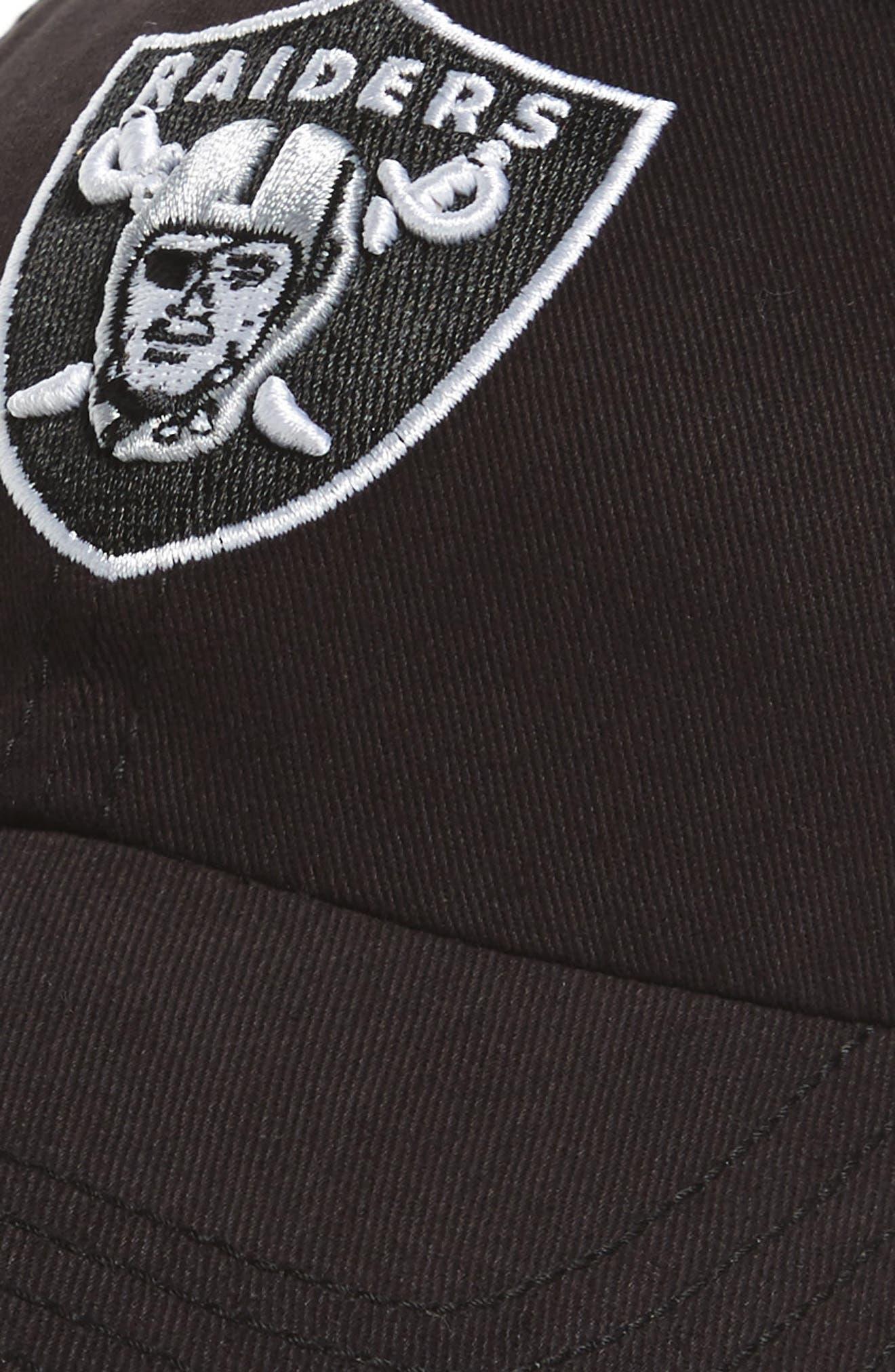 Alternate Image 3  - '47 Miata Clean Up Oakland Raiders Ball Cap