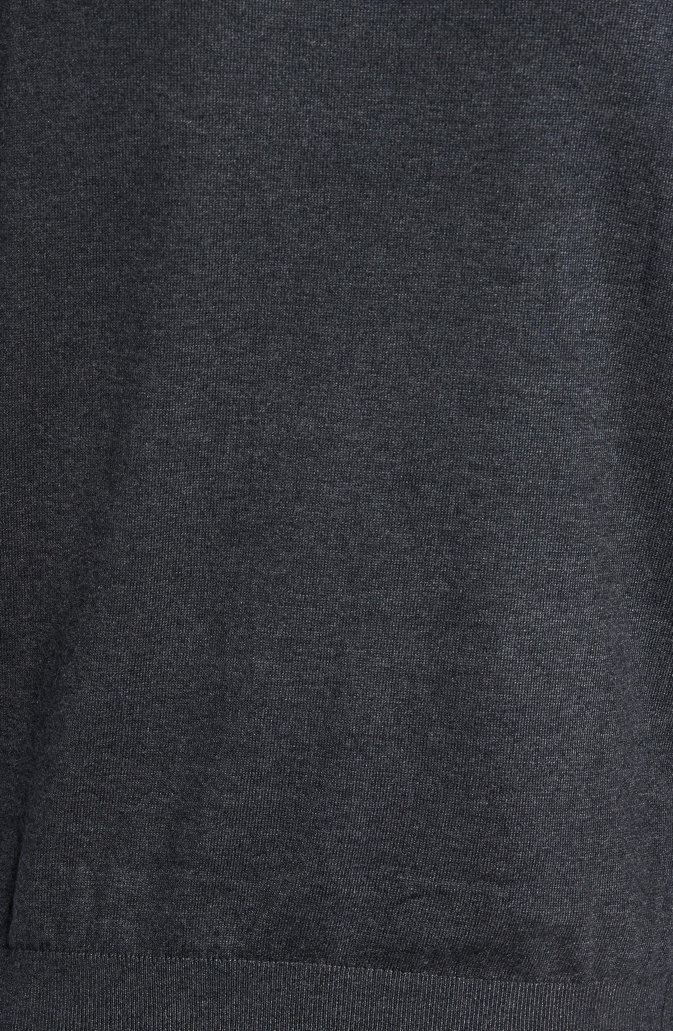 Alternate Image 5  - Ted Baker London Pepmint Herringbone Sleeve Sweatshirt