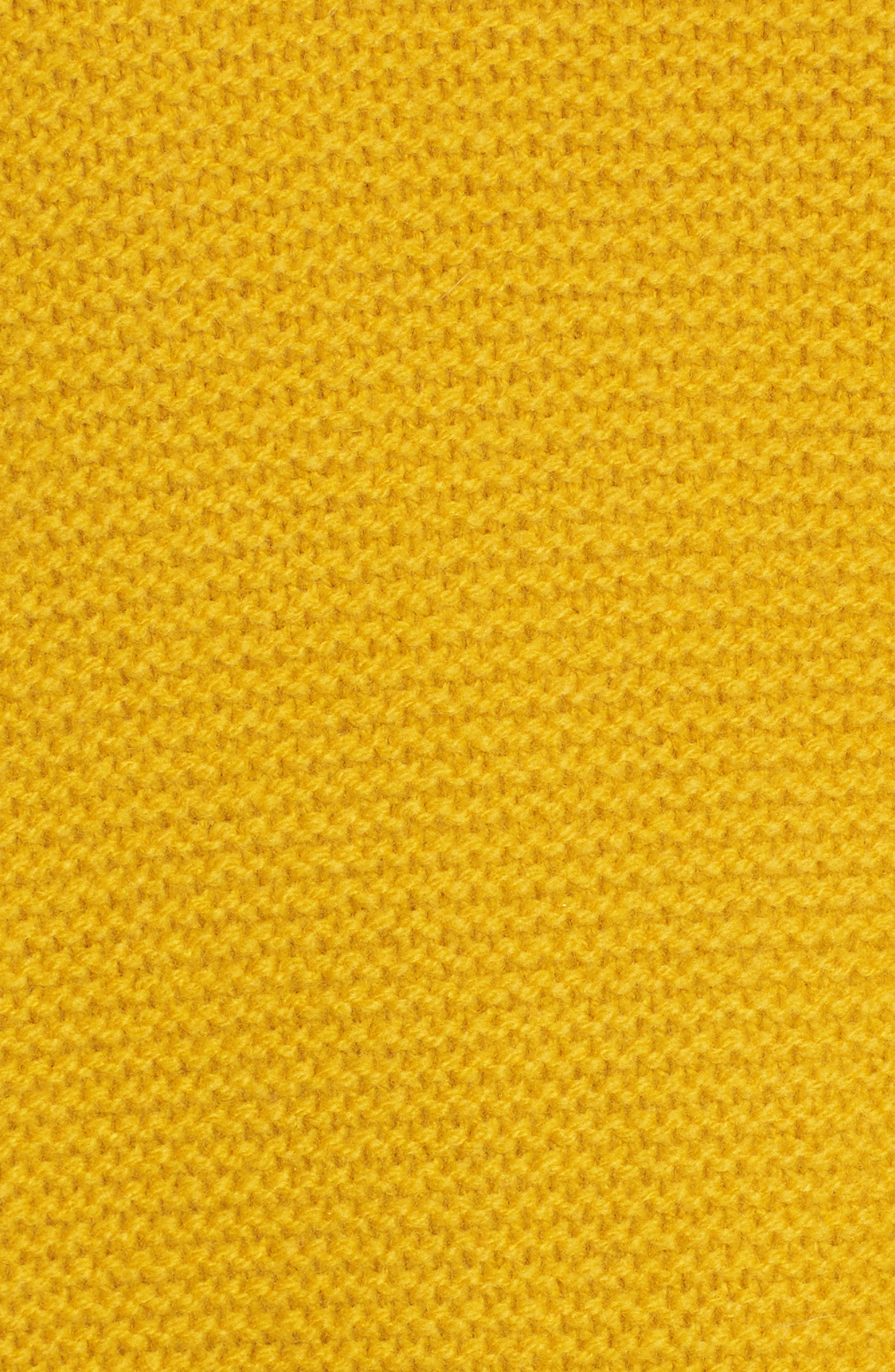 Open Side Bobble Pullover Sweater,                             Alternate thumbnail 5, color,                             Mystic Yellow