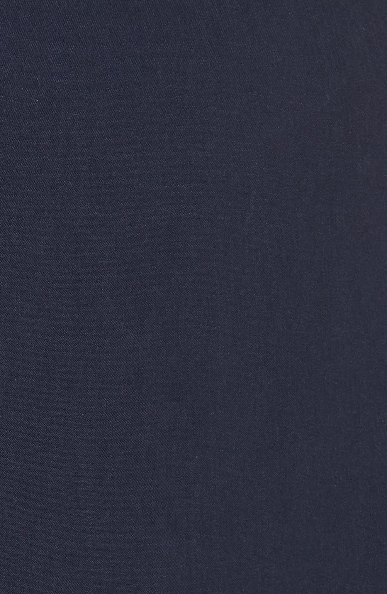 Harrington Bomber Jacket,                             Alternate thumbnail 5, color,                             Navy Captain
