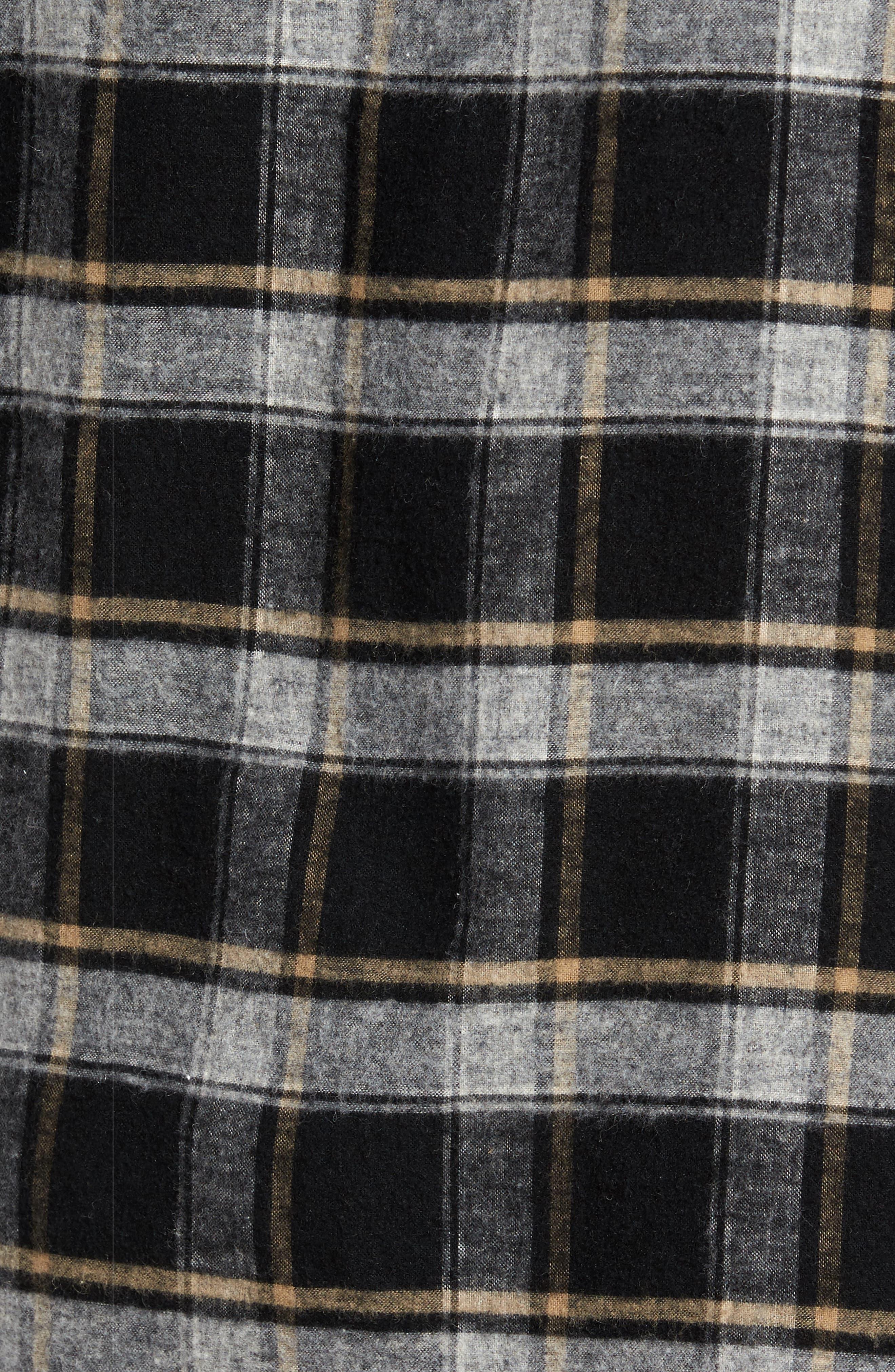 Alternate Image 5  - Billy Reid Murphy Slim Fit Check Sport Shirt