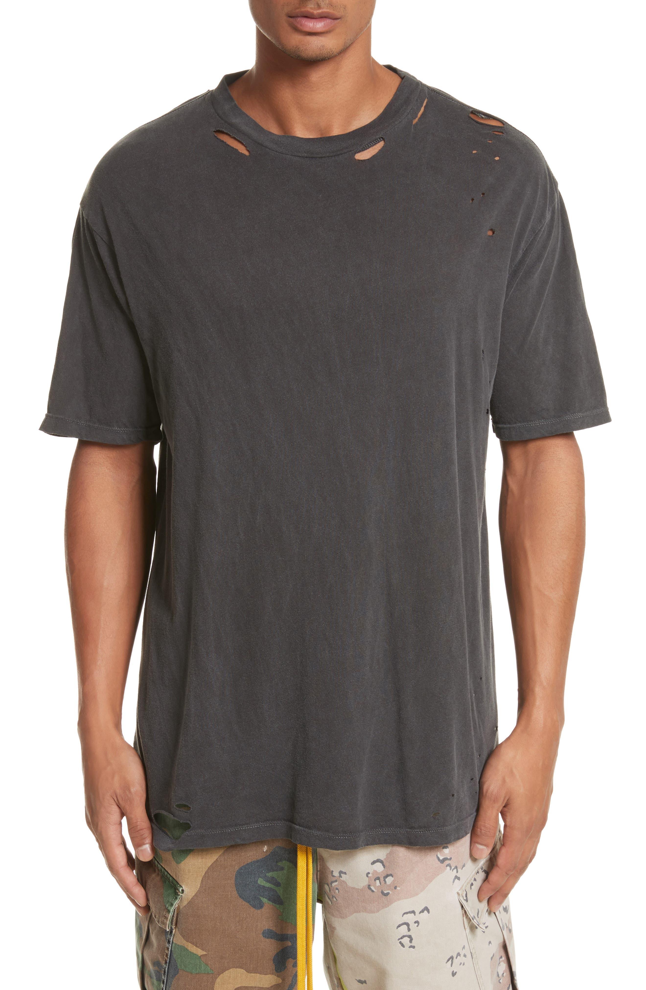 Alternate Image 1 Selected - Drifter Cobain Distressed Oversize T-Shirt