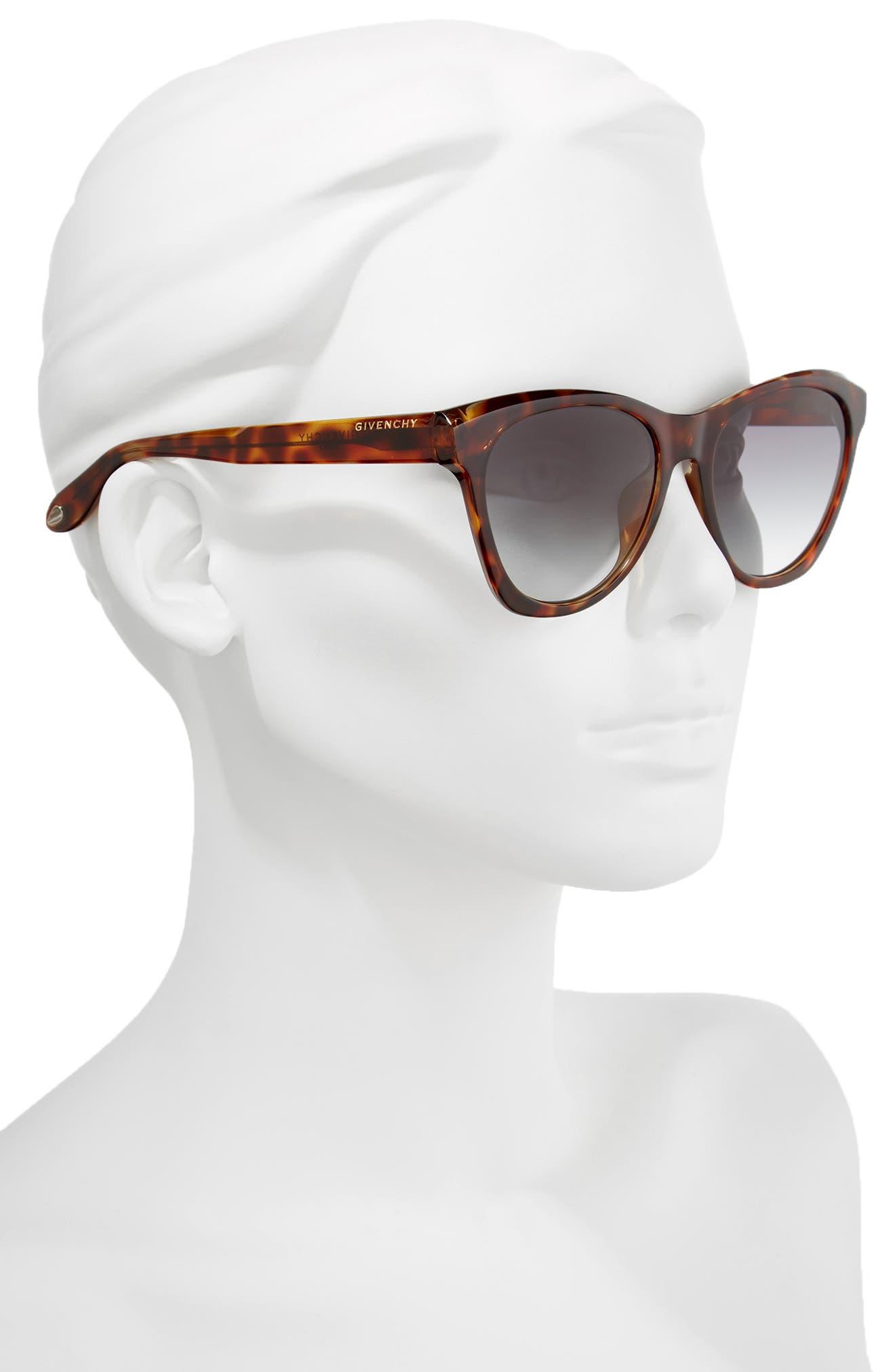 Alternate Image 2  - Givenchy 55mm Cat Eye Sunglasses