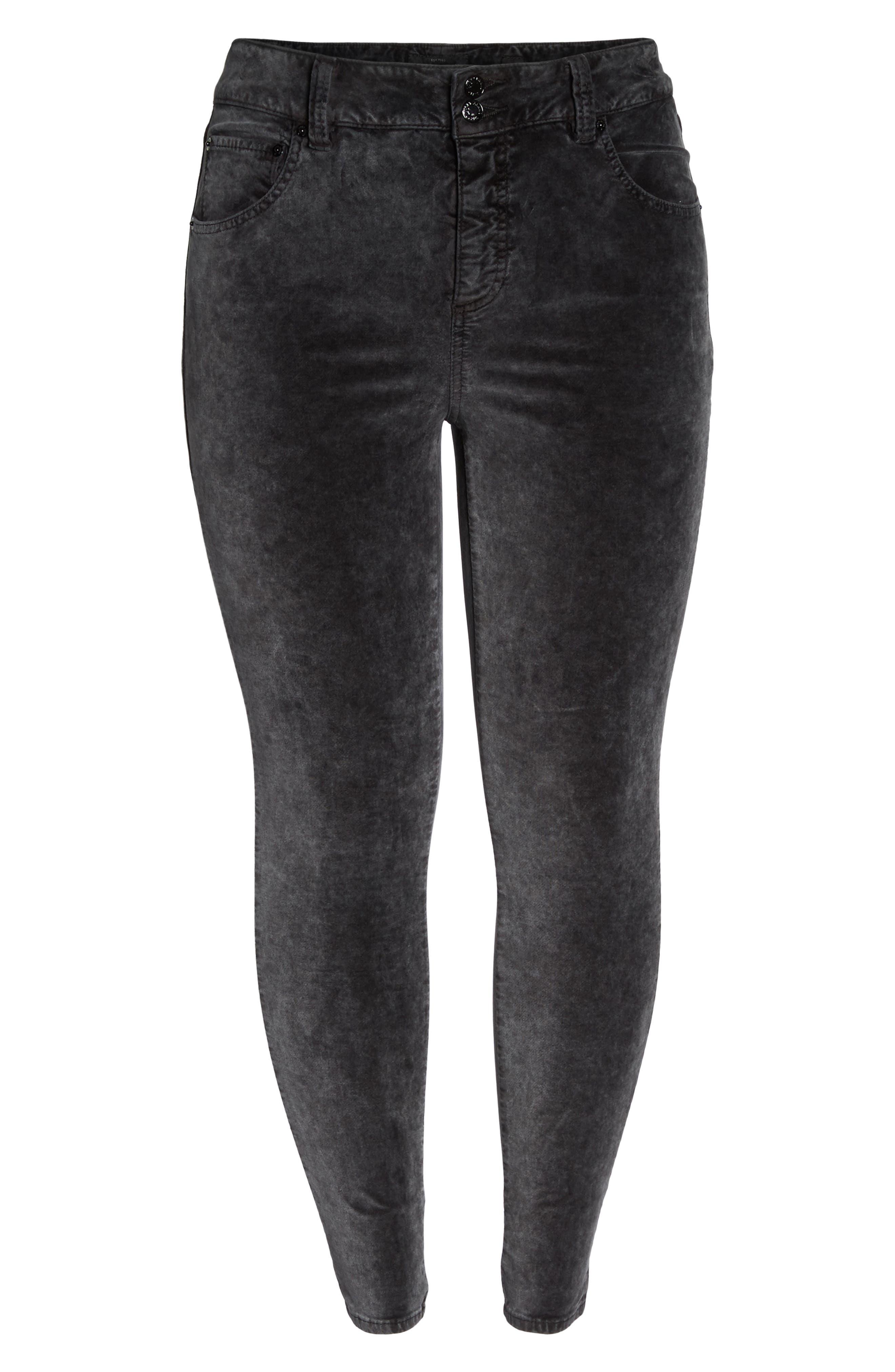 Emma Legging Jeans,                             Alternate thumbnail 6, color,                             Parkman