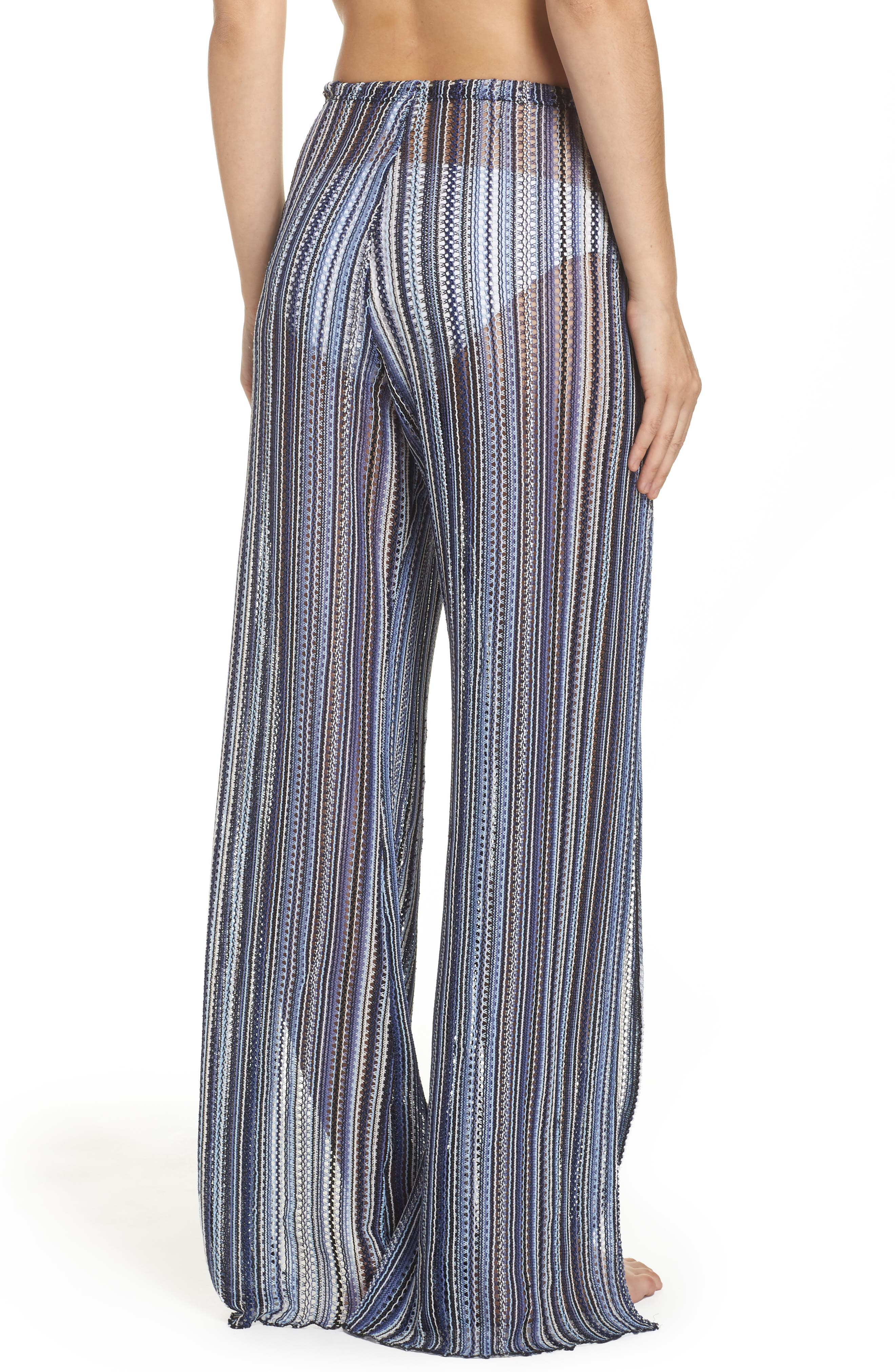 Pierside Cover-Up Flyaway Pants,                             Alternate thumbnail 2, color,                             Multi