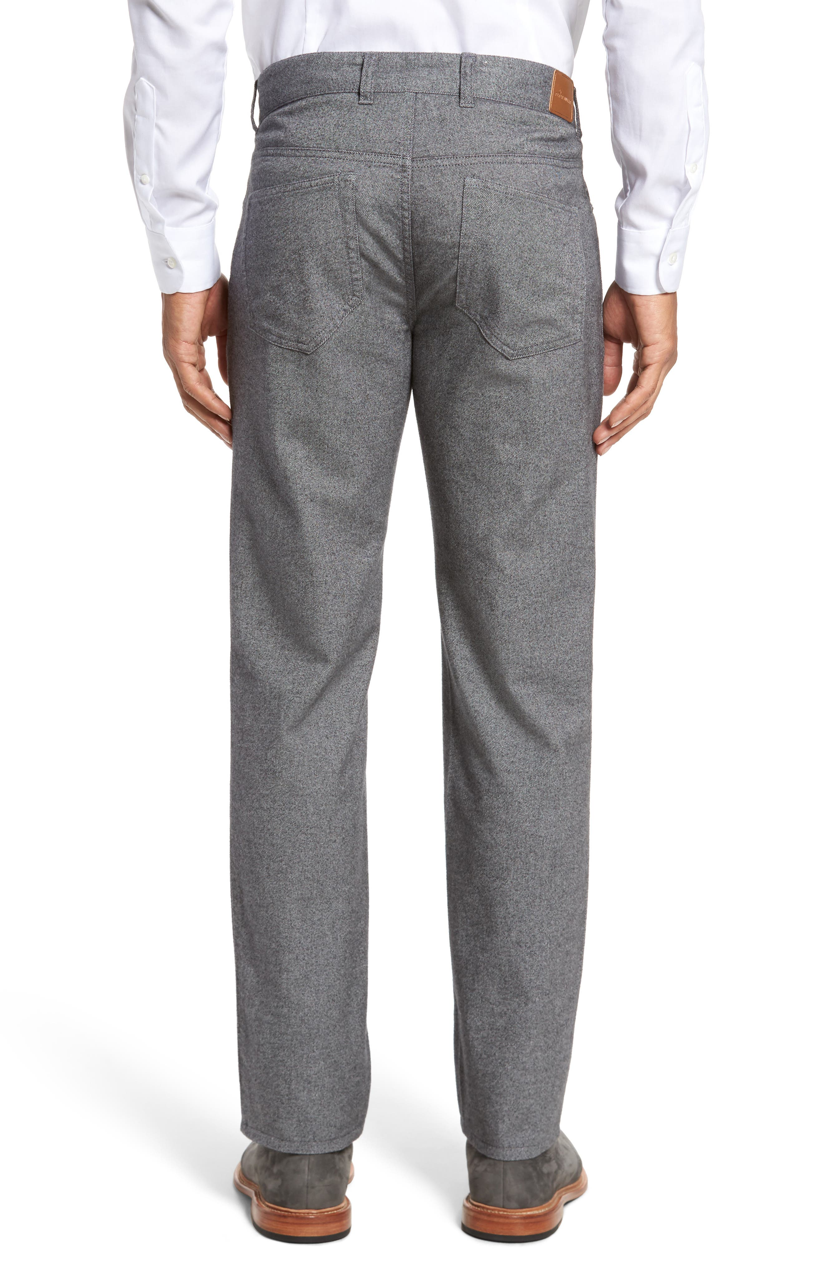 Alternate Image 2  - Peter Millar Mountainside Flannel Five-Pocket Pants