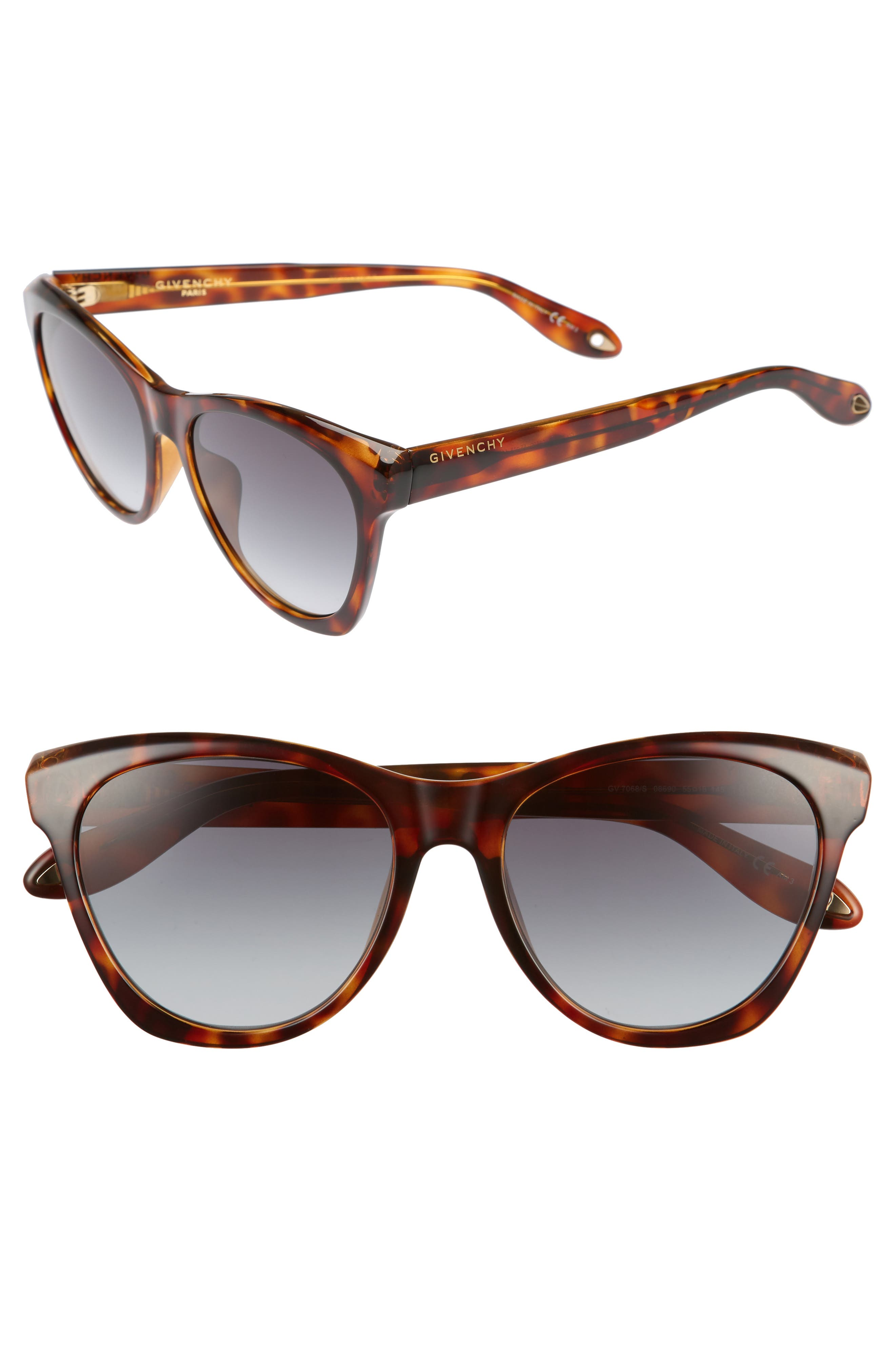 Alternate Image 1 Selected - Givenchy 55mm Cat Eye Sunglasses