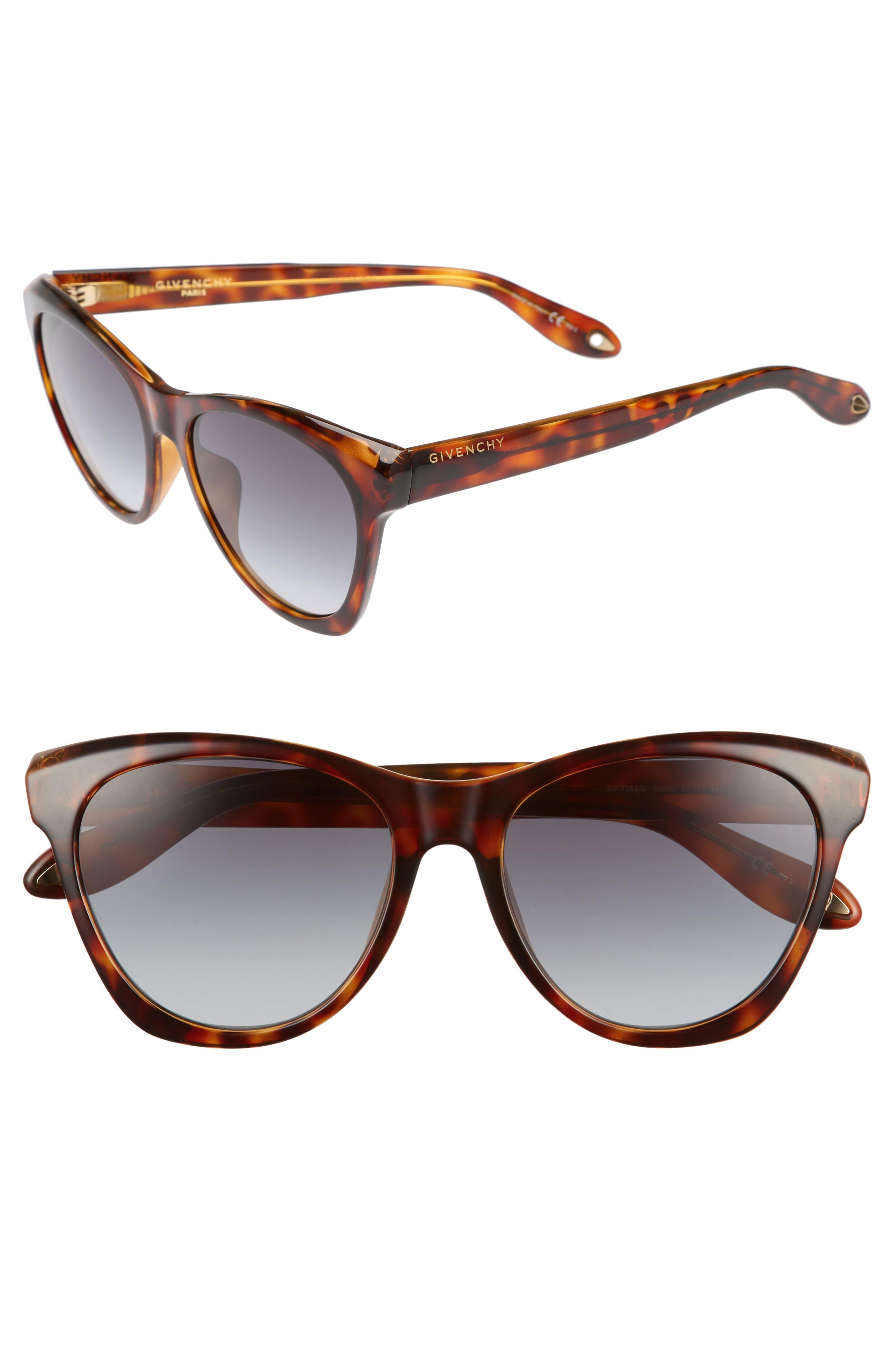 Main Image - Givenchy 55mm Cat Eye Sunglasses