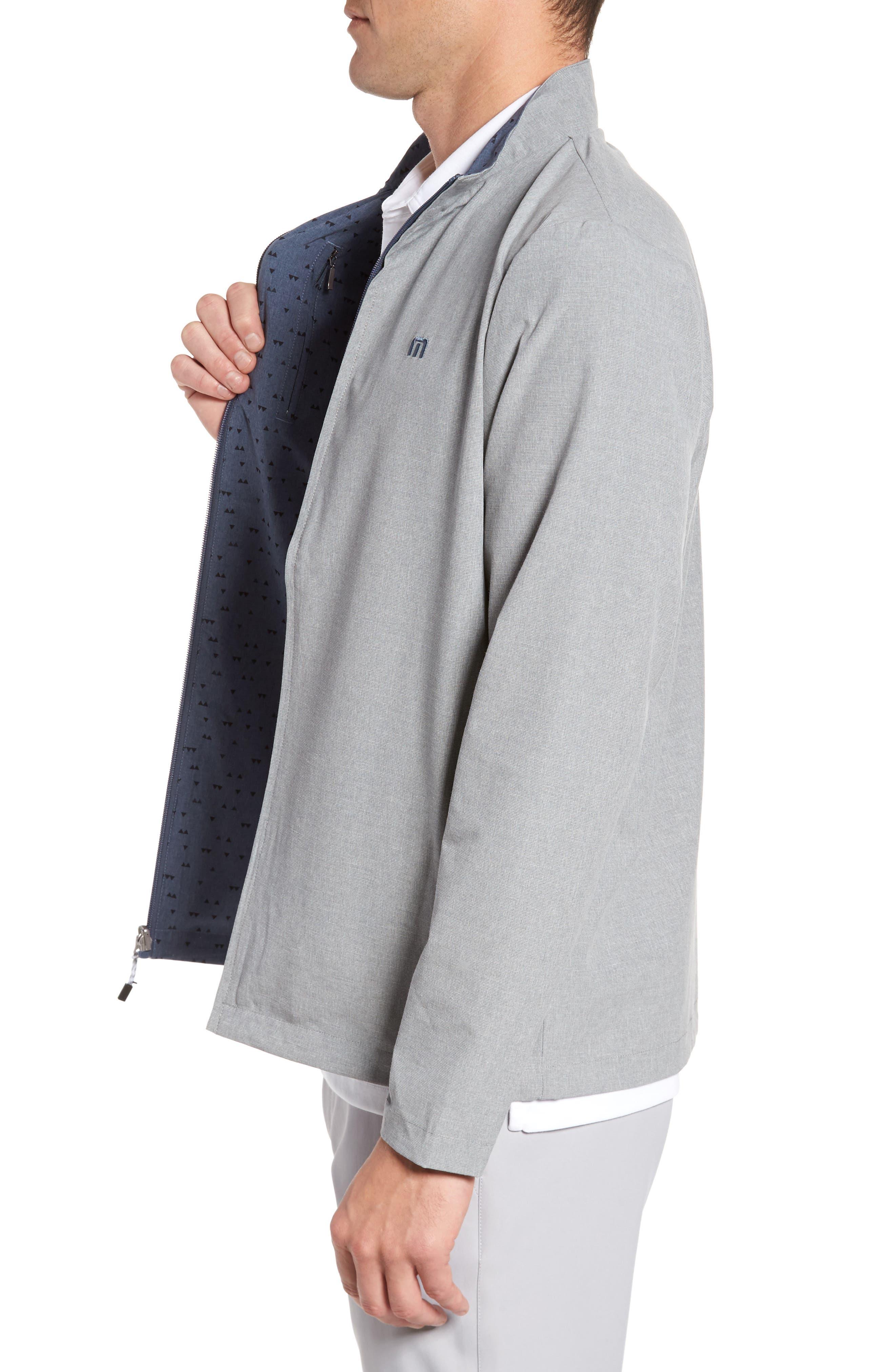 Nowo Reversible Jacket,                             Alternate thumbnail 3, color,                             Heather Alloy