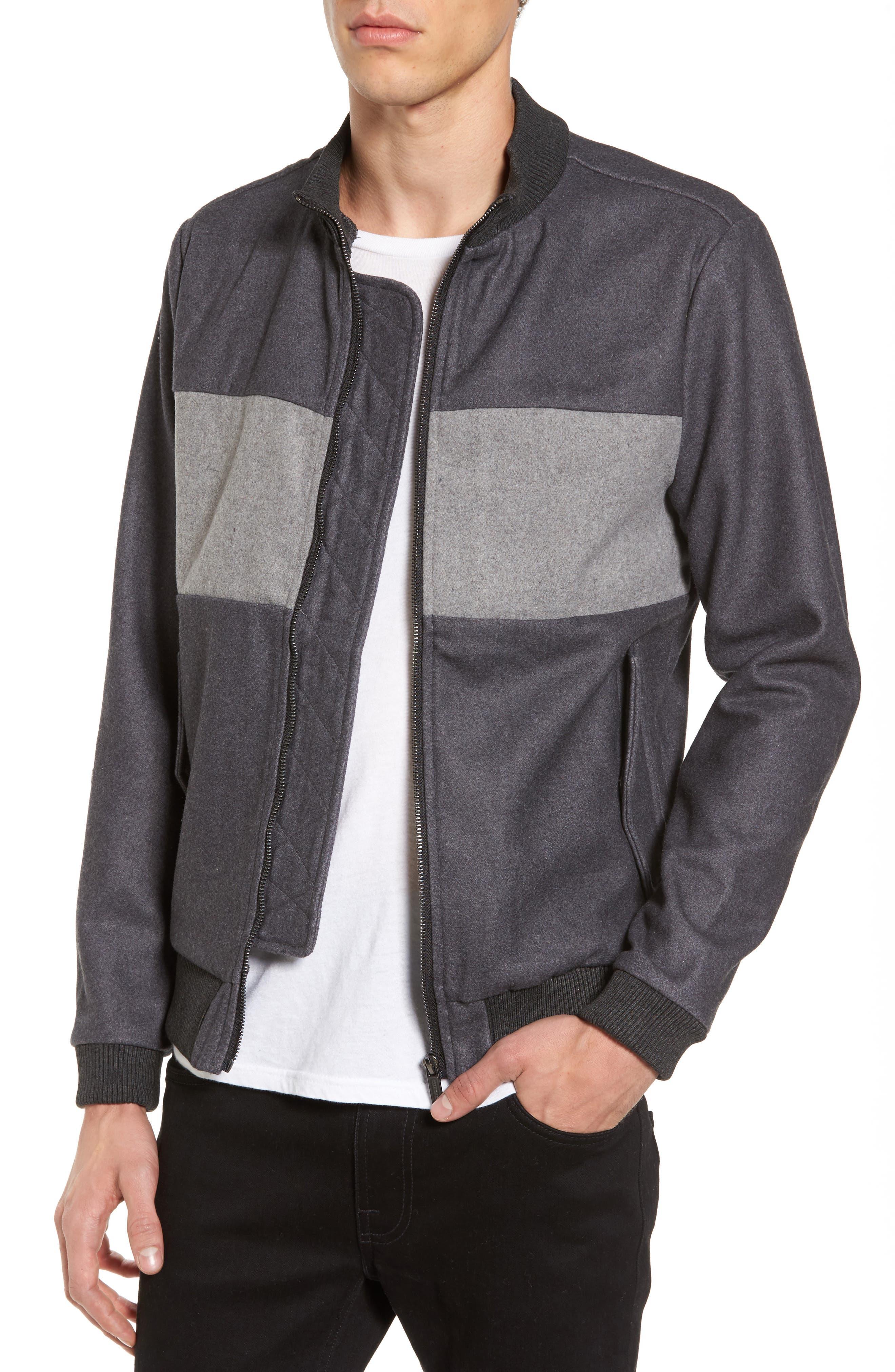 Cityscape Jacket,                         Main,                         color, Charcoal