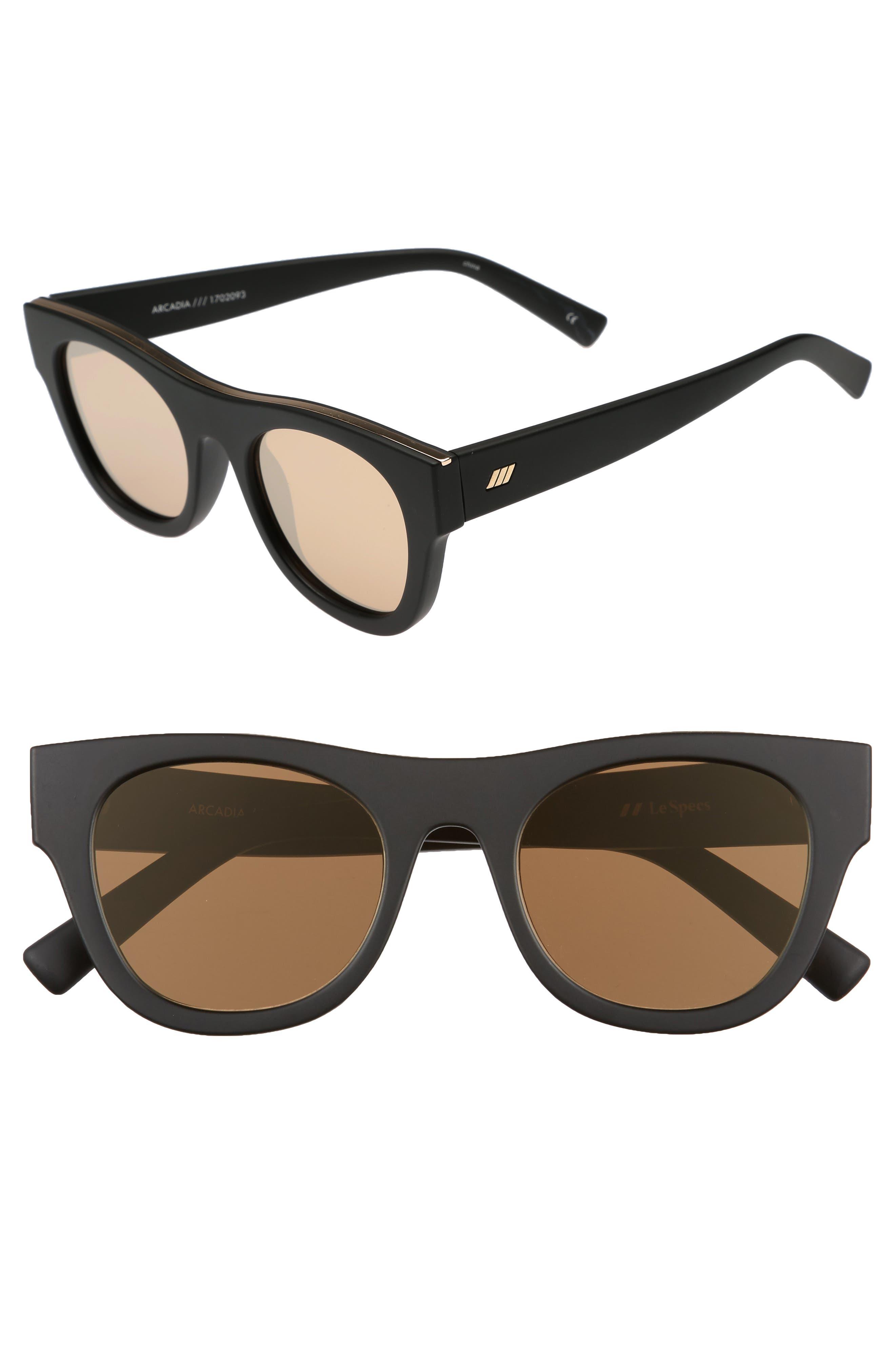 Main Image - Le Specs Arcadia 49mm Sunglasses